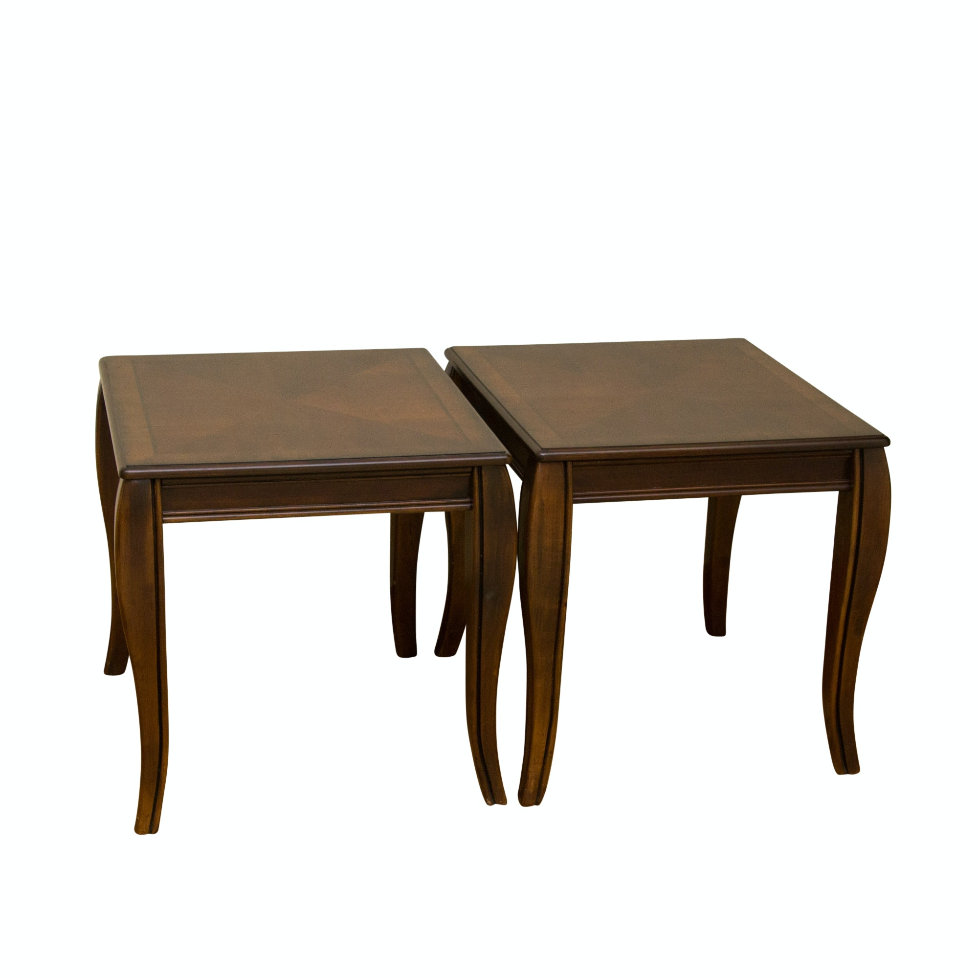 "Two ""Mattie"" Side Tables by Ashley Furniture"