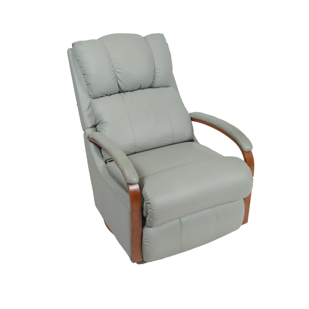 La-Z-Boy Rocker Recliner with Leather Upholstery