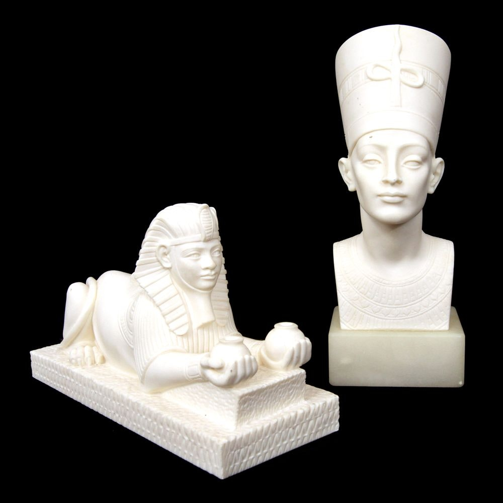 Italian Resin Egyptian-Style Figurines