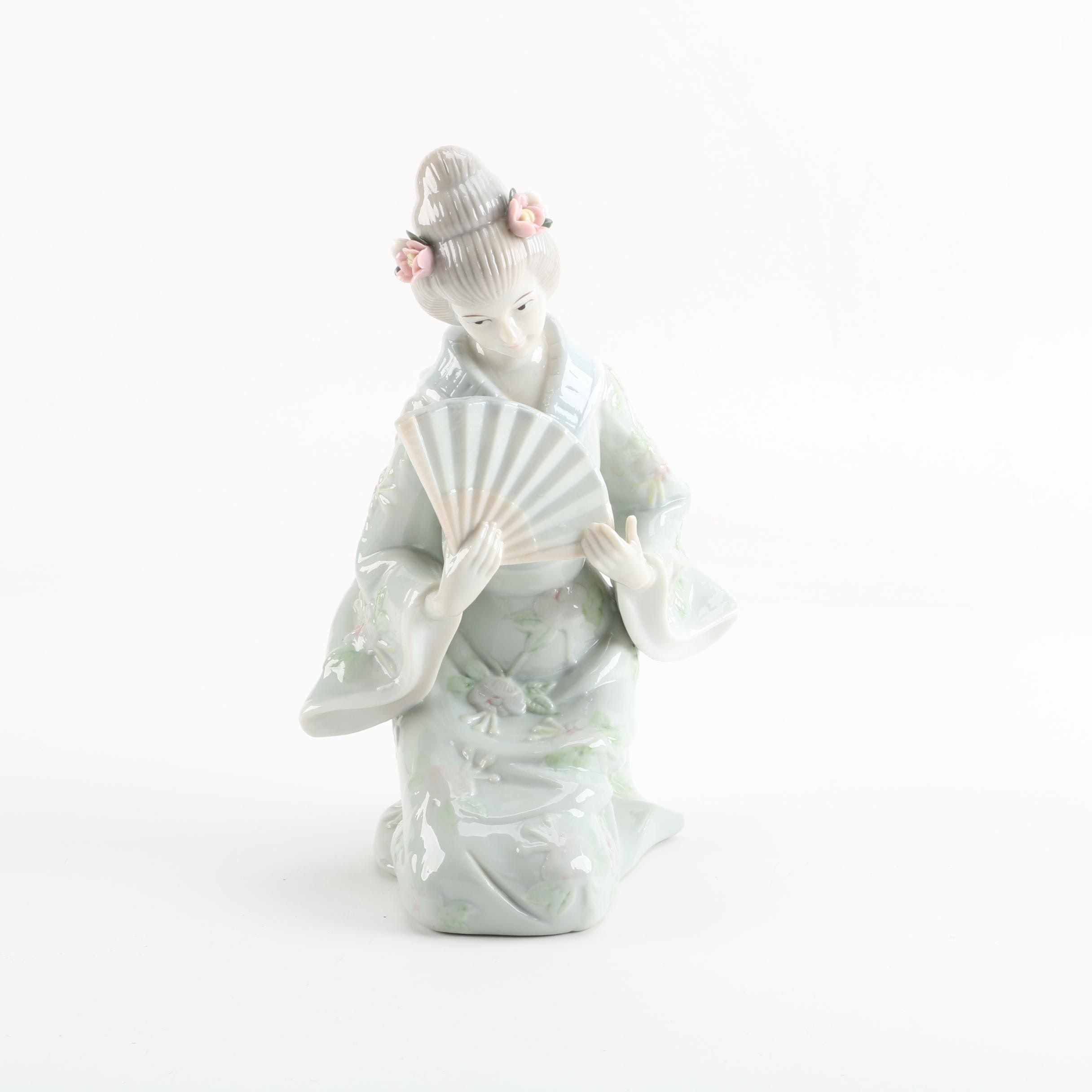 KPM Japanese Inspired Porcelain Figurine