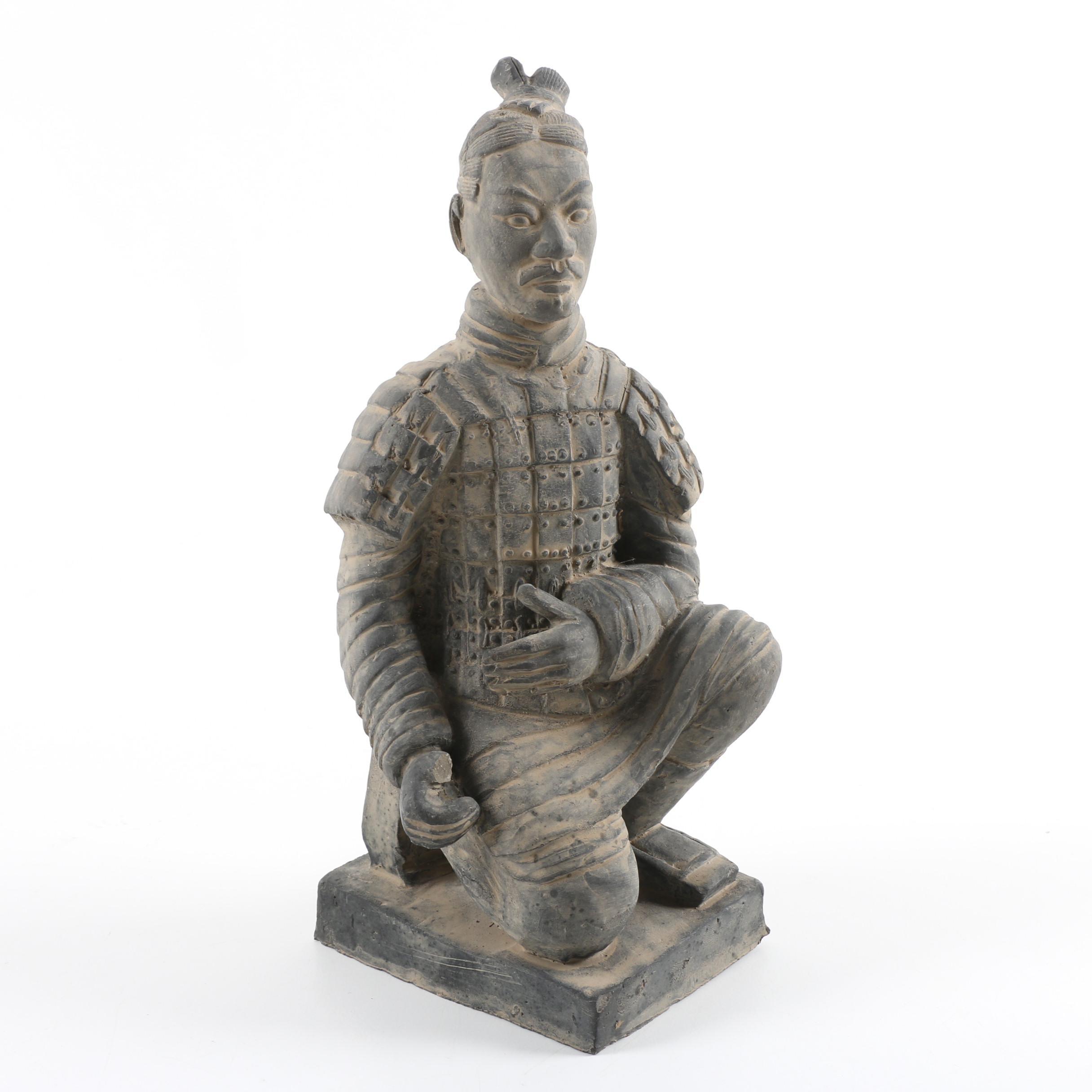 Chinese Replica Terracotta Warrior Figurine