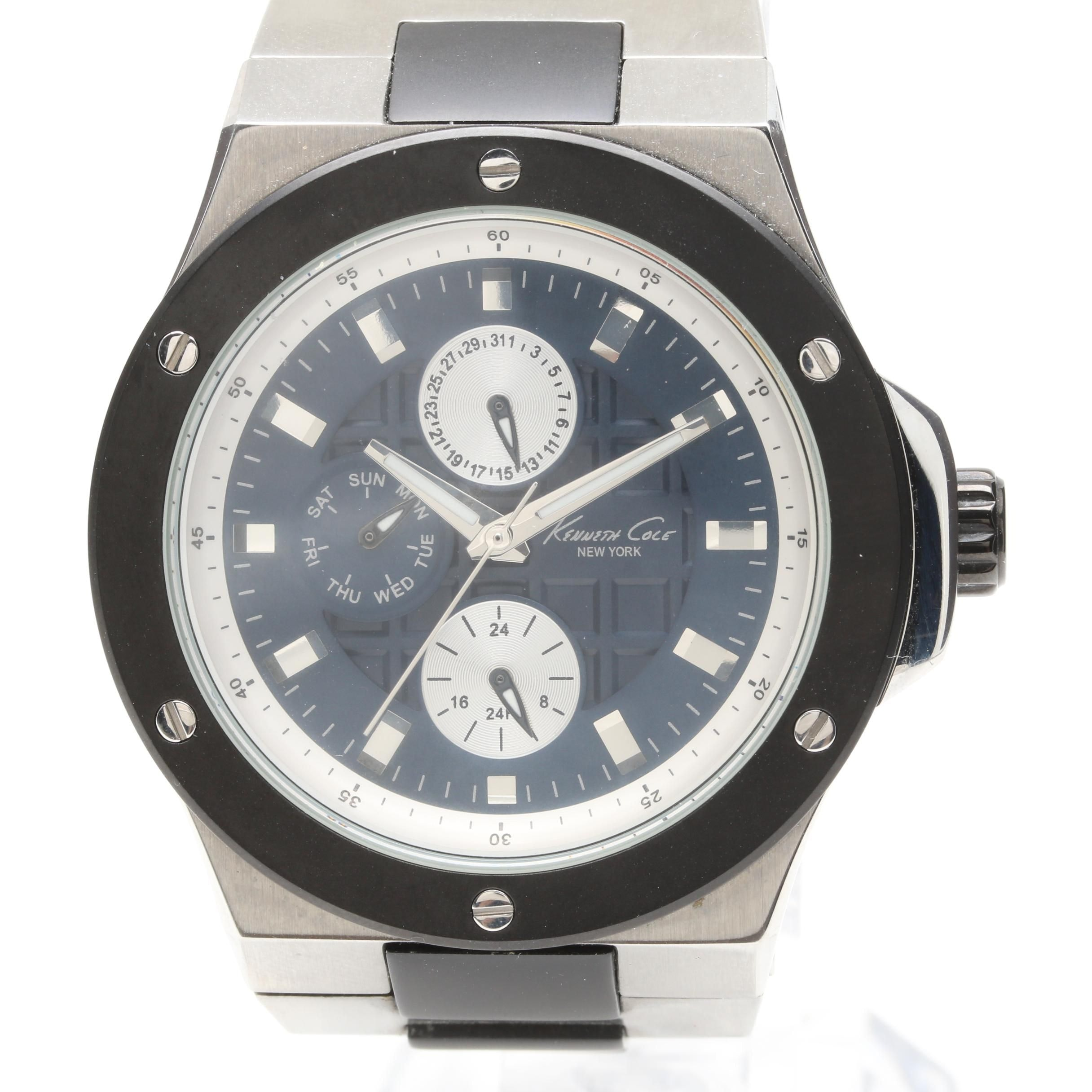 Kenneth Cole Stainless Steel Wristwatch