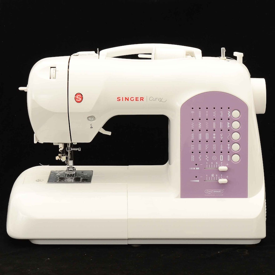 Singer Curvy 40 Computerized Sewing Machine EBTH Unique Singer Curvy 8763 Sewing Machine