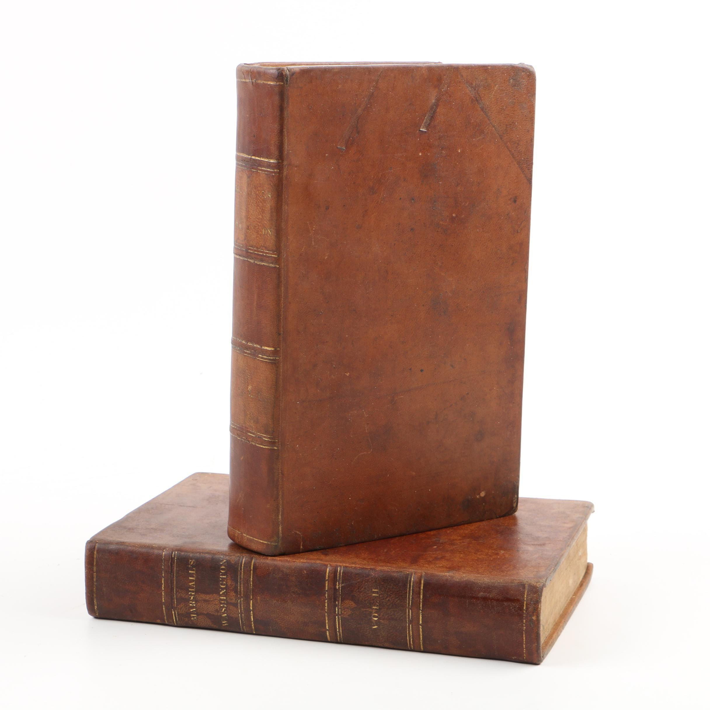 "1835 Two-Volume Set ""The Life of George Washington"" by John Marshall"