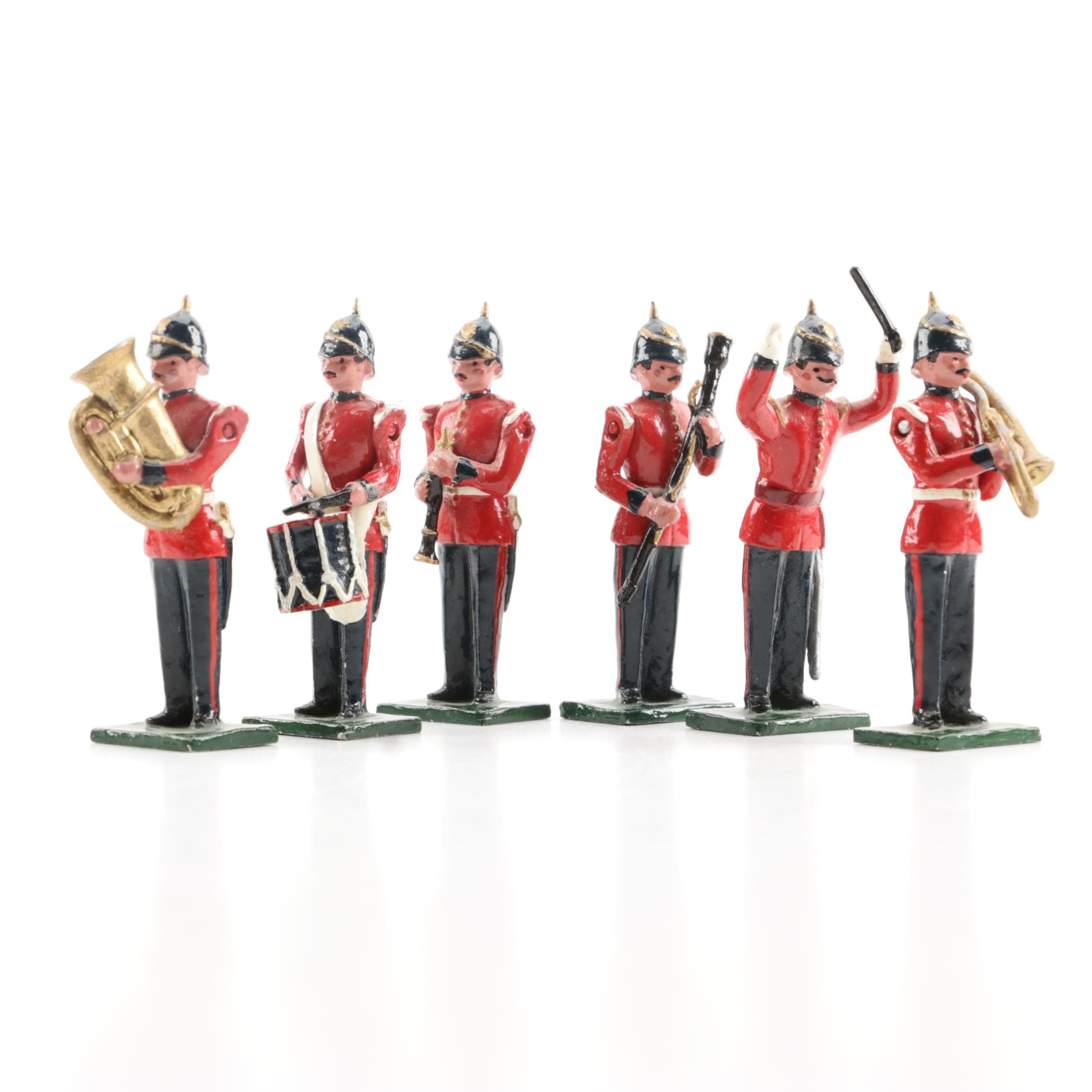 Metal Figurines of British Military Musicians by Blenheim