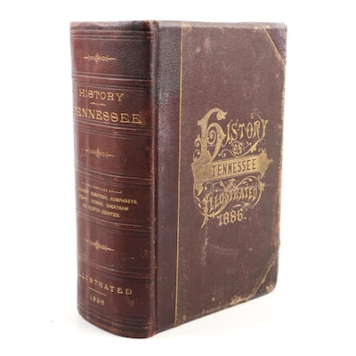 "1886 Illustrated ""History of Tennessee"""