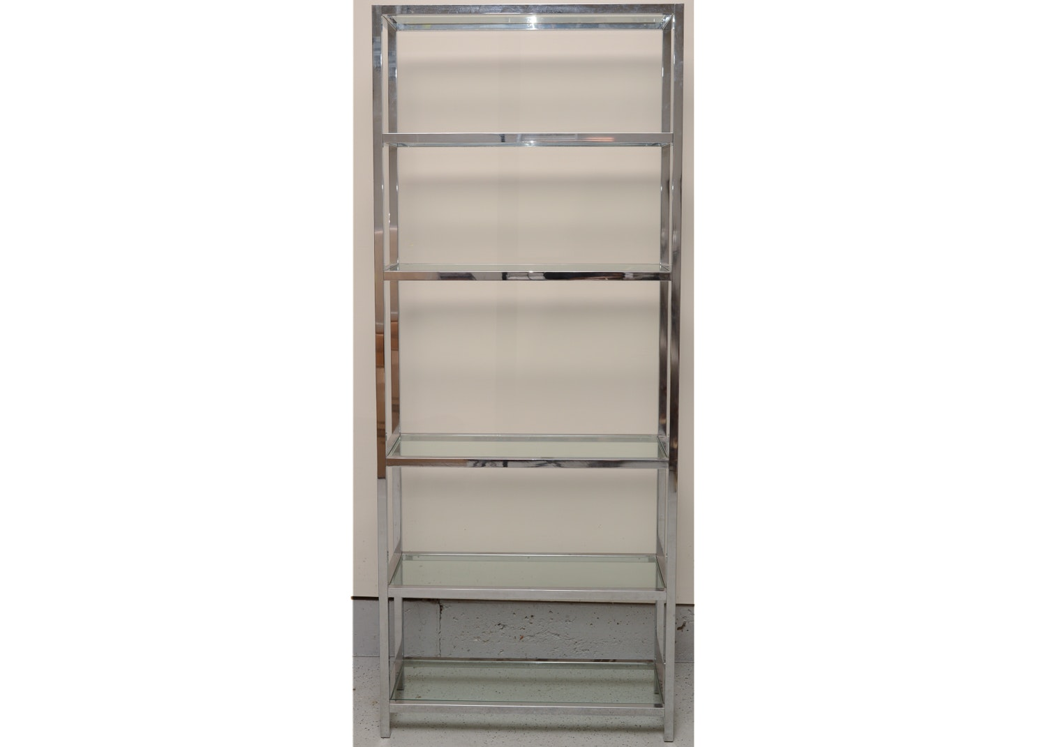 Metal And Glass Open Display Cabinet ...
