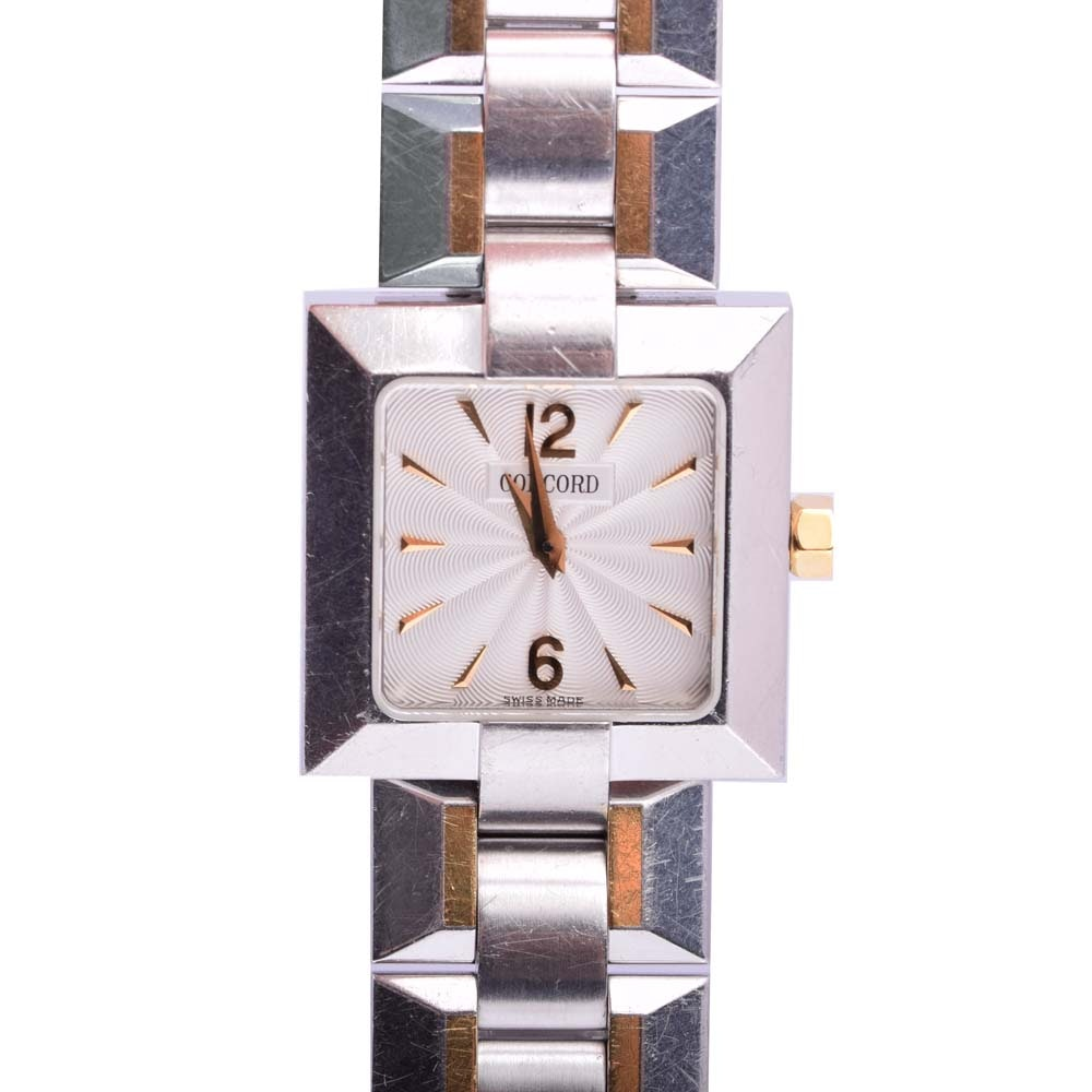 Concord Stainless Steel Wristwatch