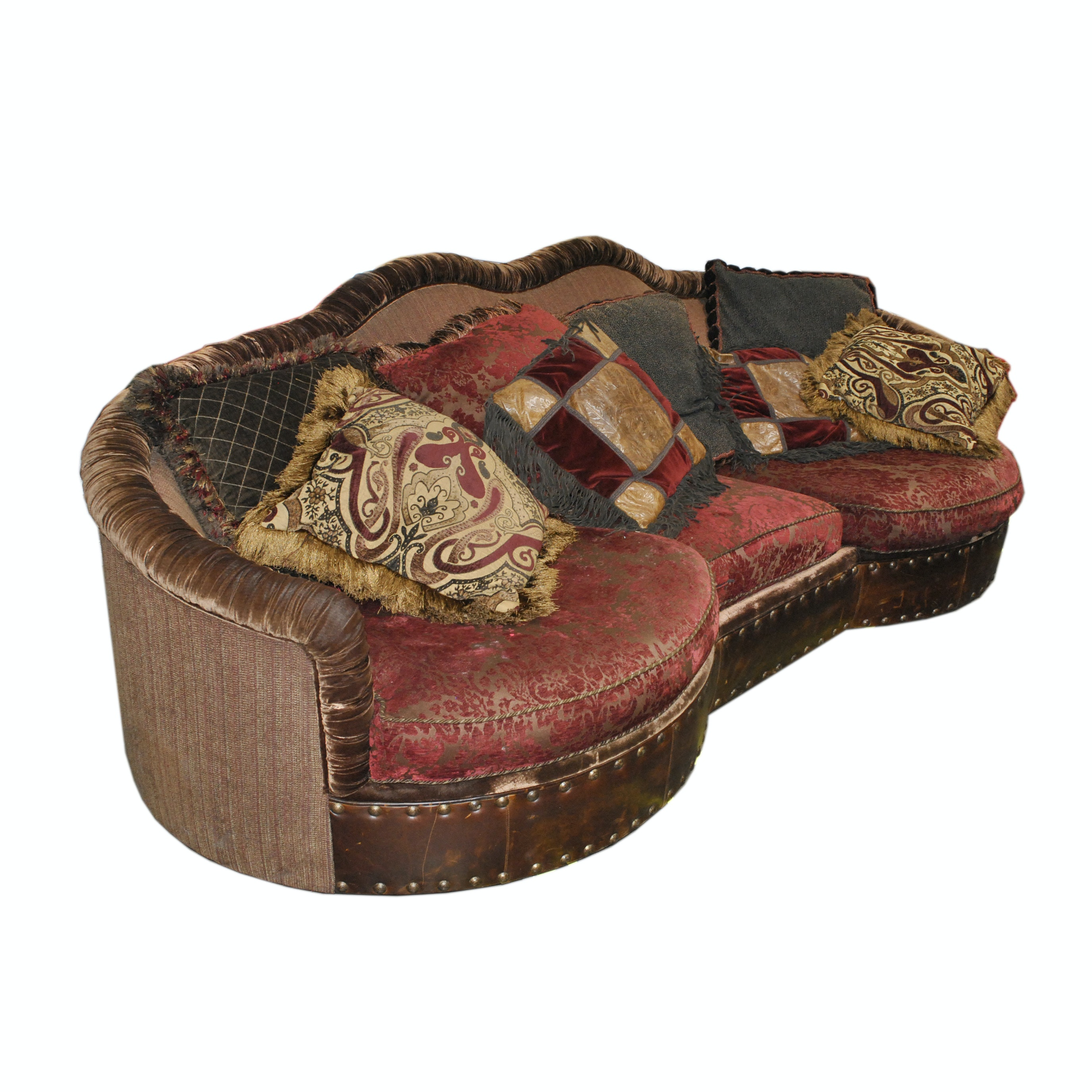 "Upholstered ""Nathan"" Sofa by Paul Robert"