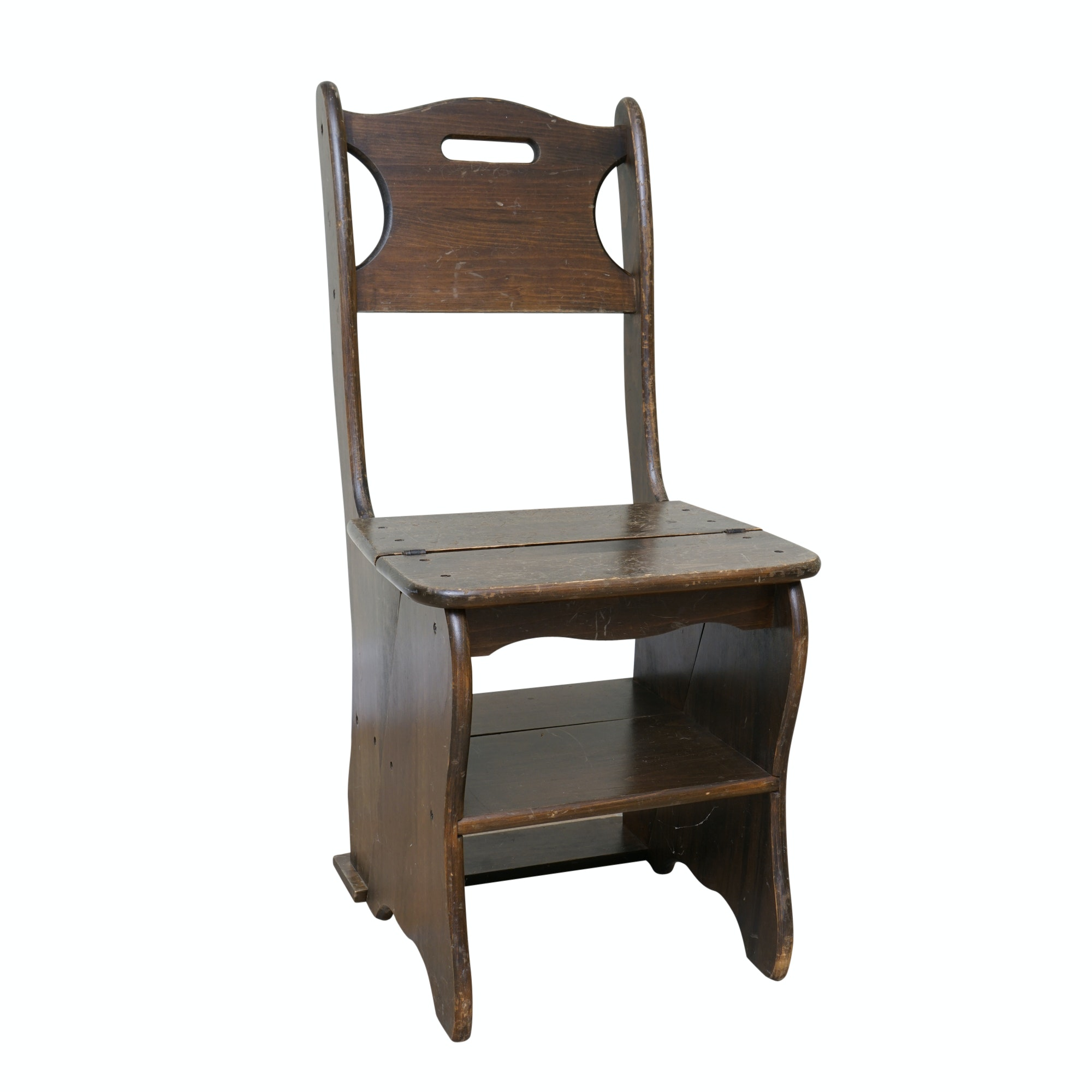 Vintage Step Ladder Chair