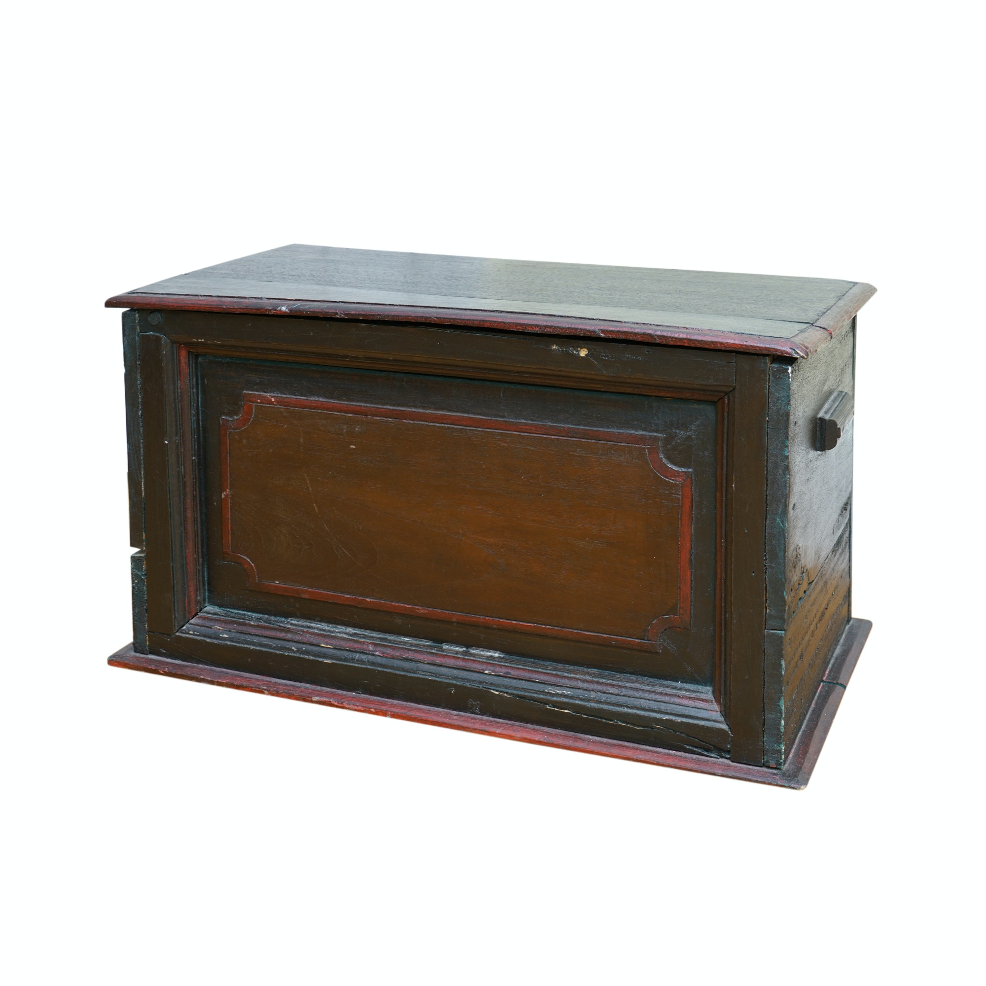 Antique Painted Tool Chest