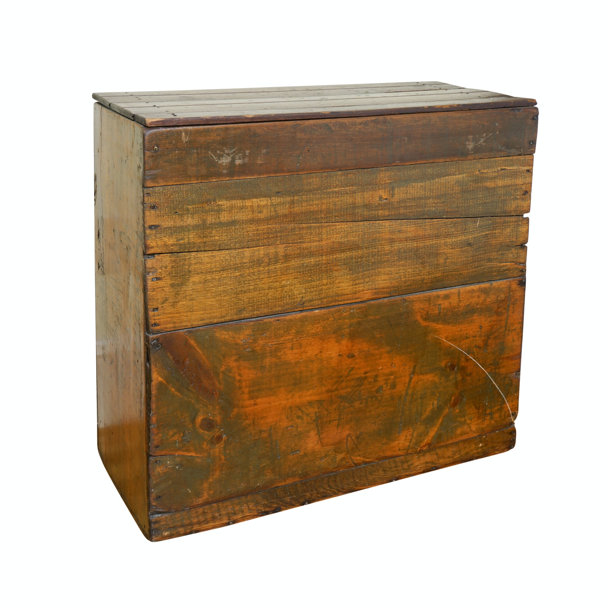Antique Shoe Shipping Crate