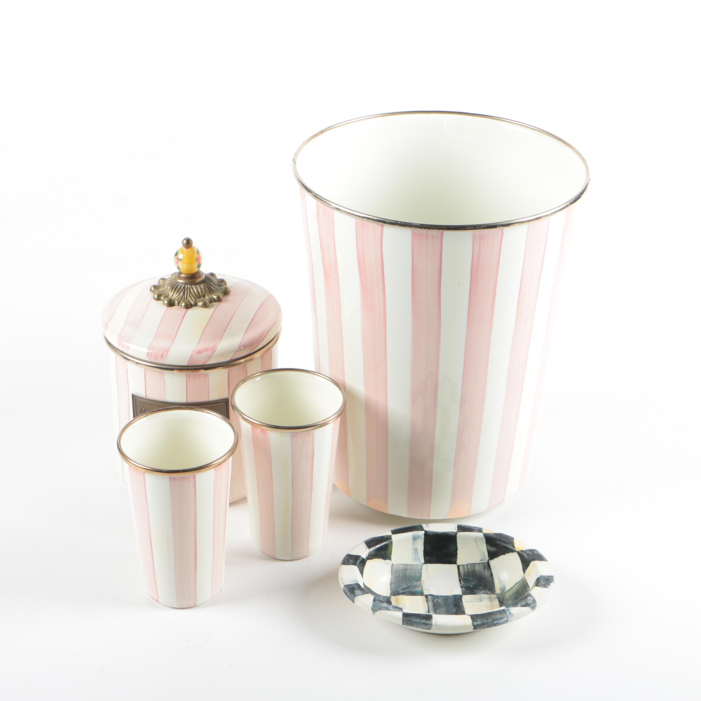 Mackenzie-Childs Ceramic Bathroom Accessories