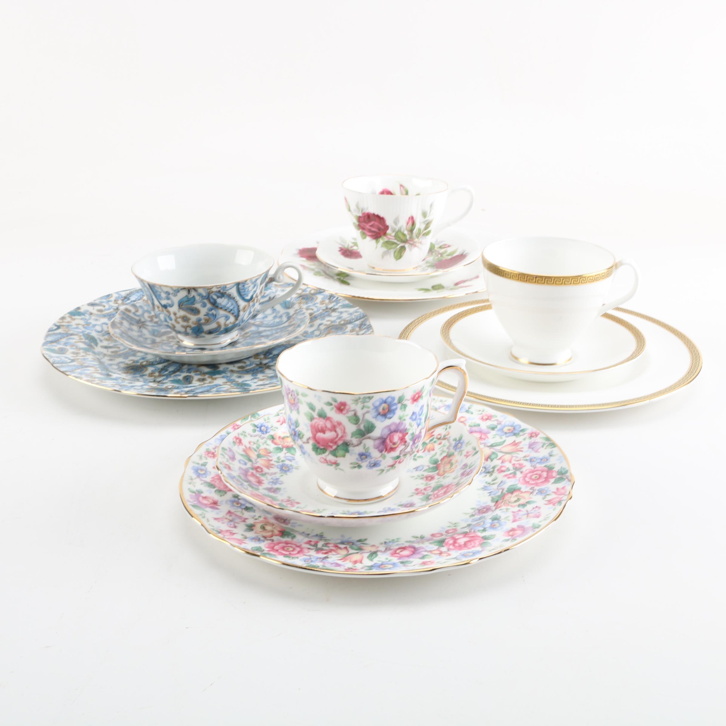 Tea Service Place Settings Featuring Royal Albert