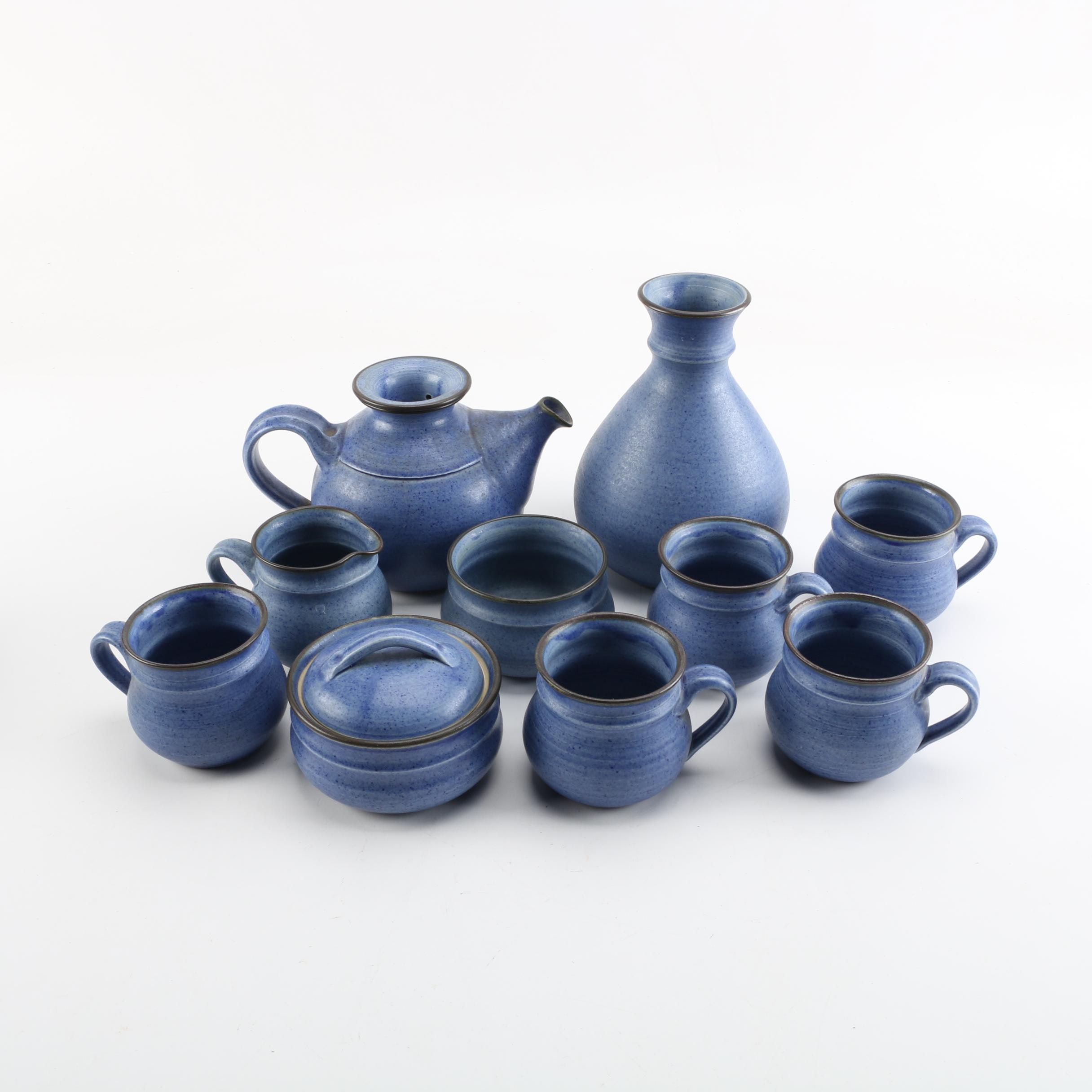 Wheel Thrown Porcelain Tea Service