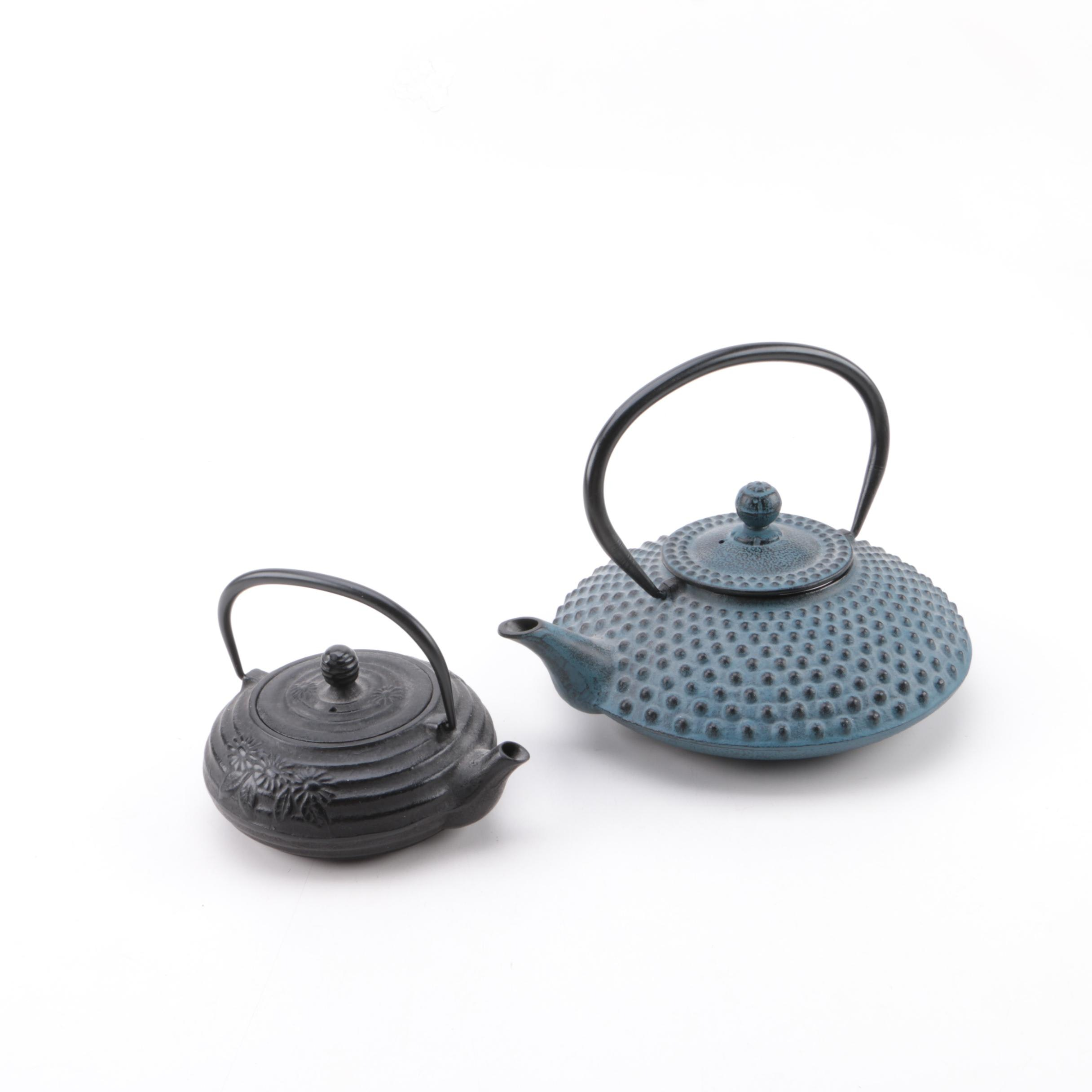 Japanese Cast Iron Tea Pots