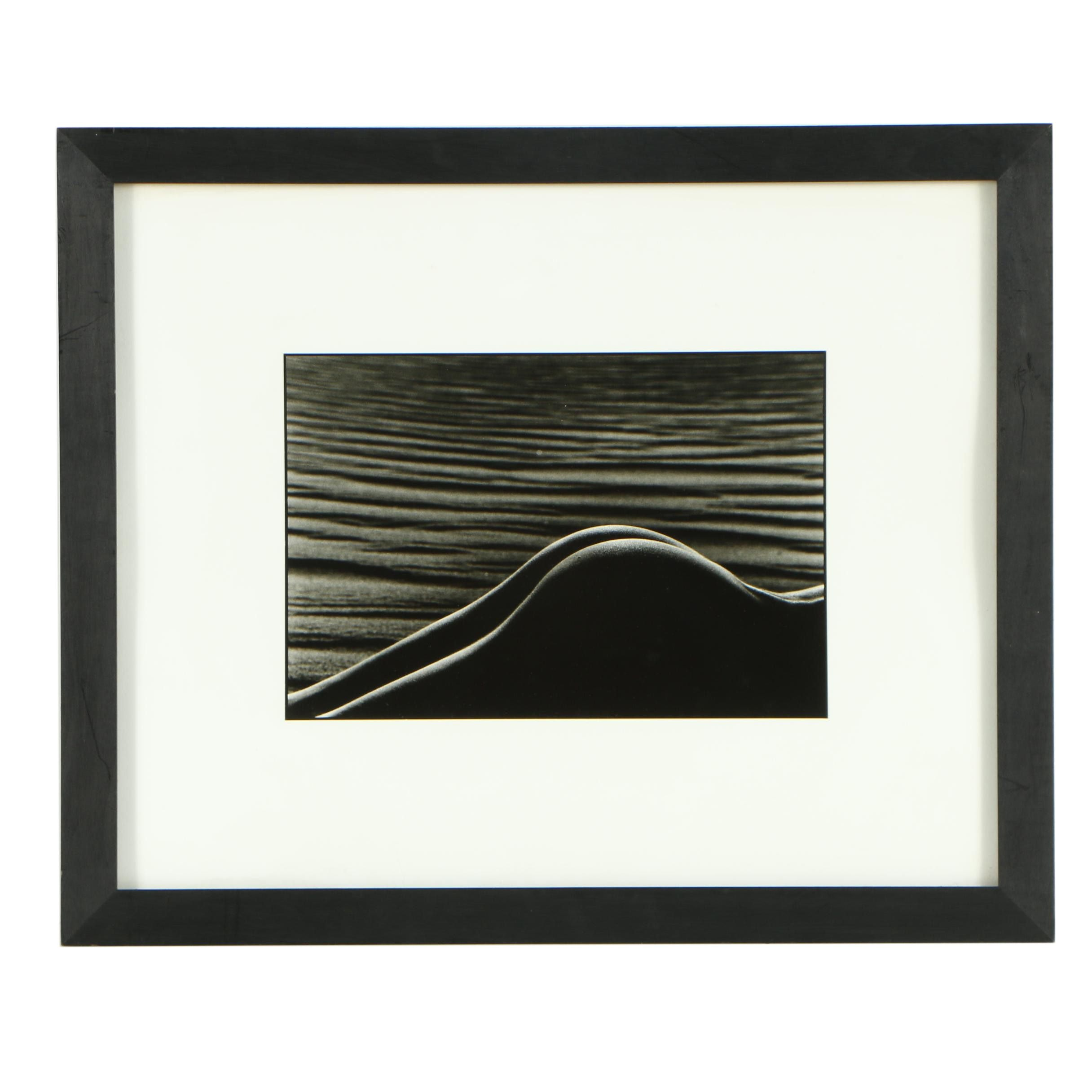 """Simon Chaput Silver Gelatin Print Photograph """"Lune DV 6"""""""
