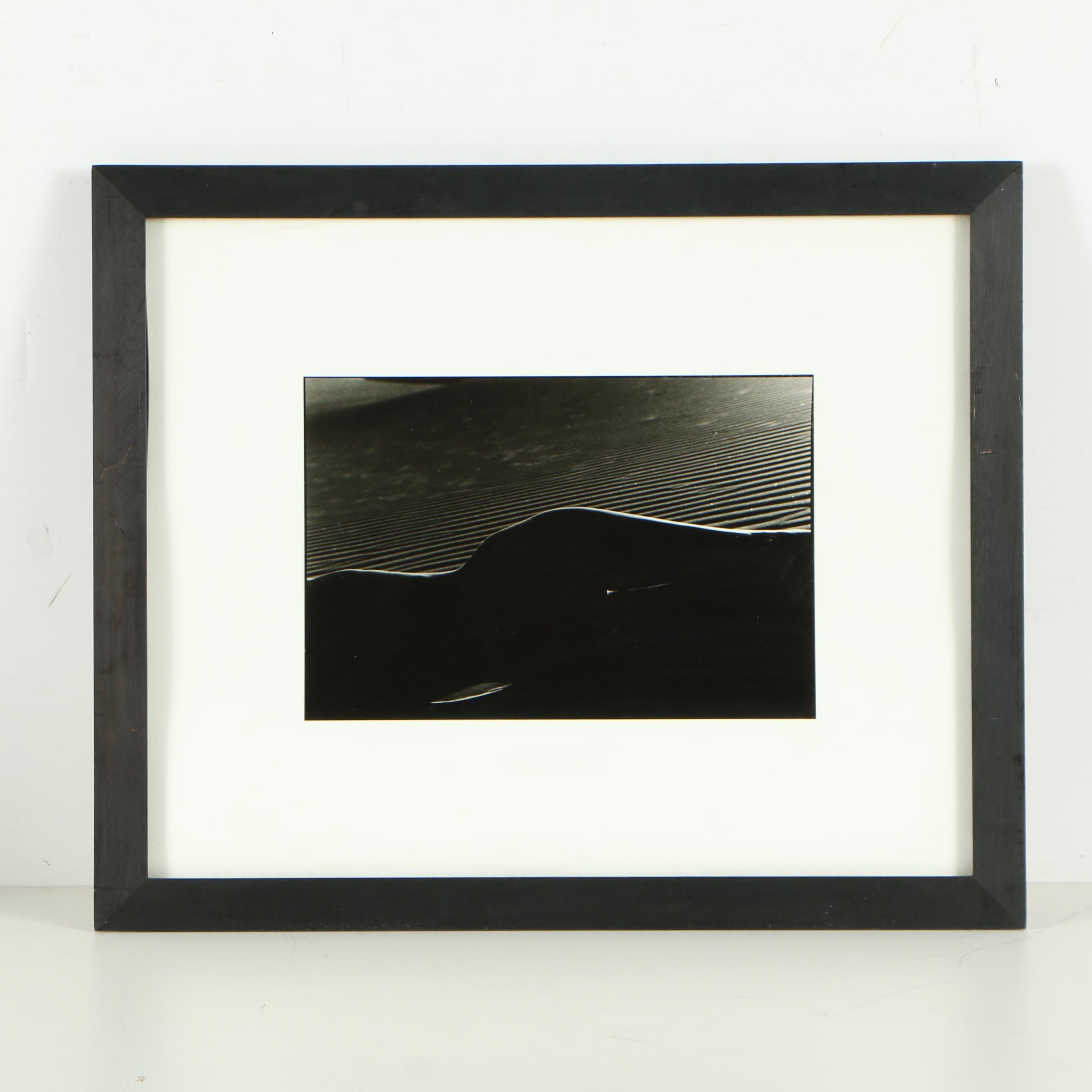 """Simon Chaput Gelatin Silver Print Photograph """"Lune DV 4"""""""