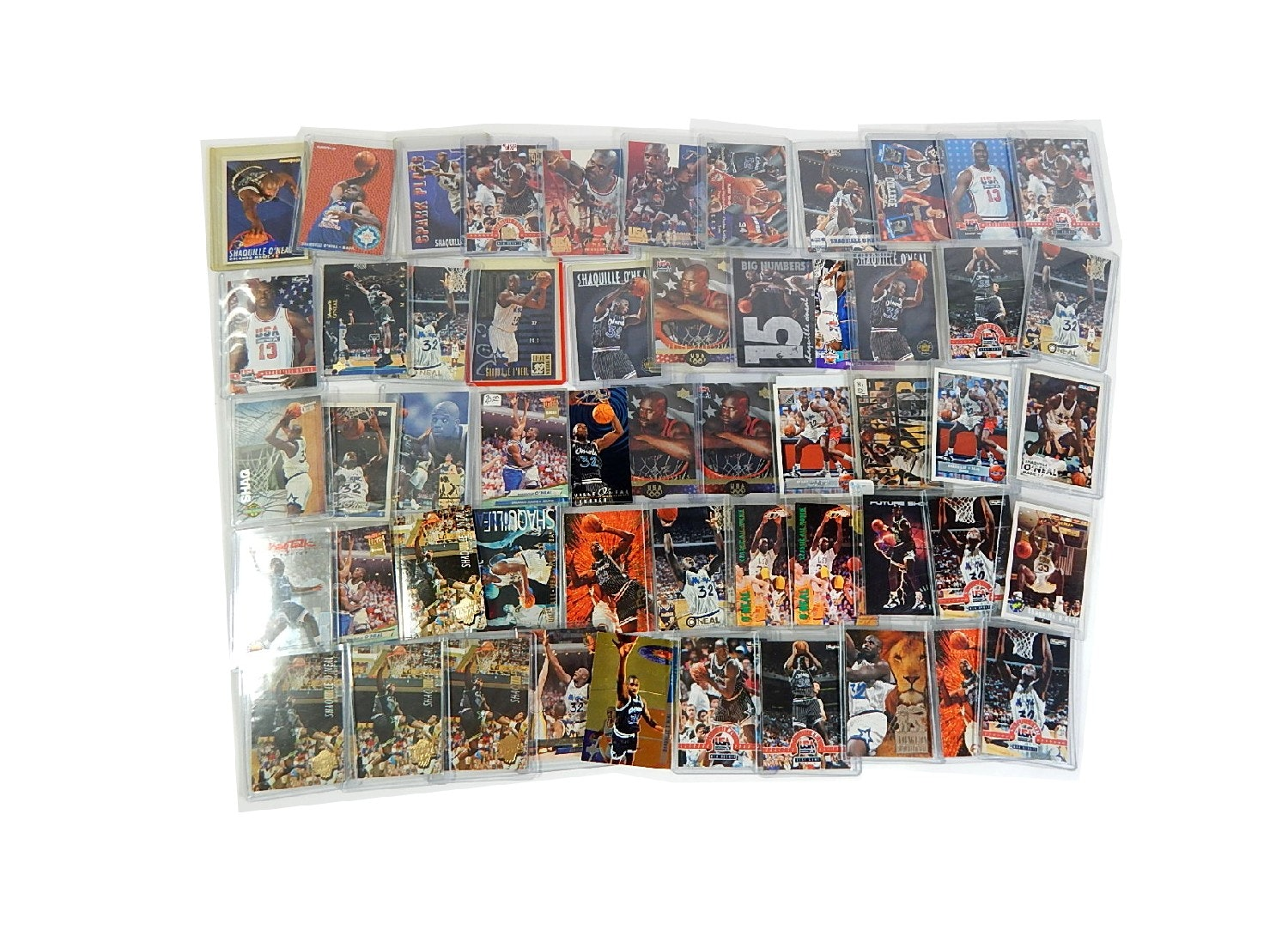 Shaquille O'Neal Rookie and Insert Card Collection