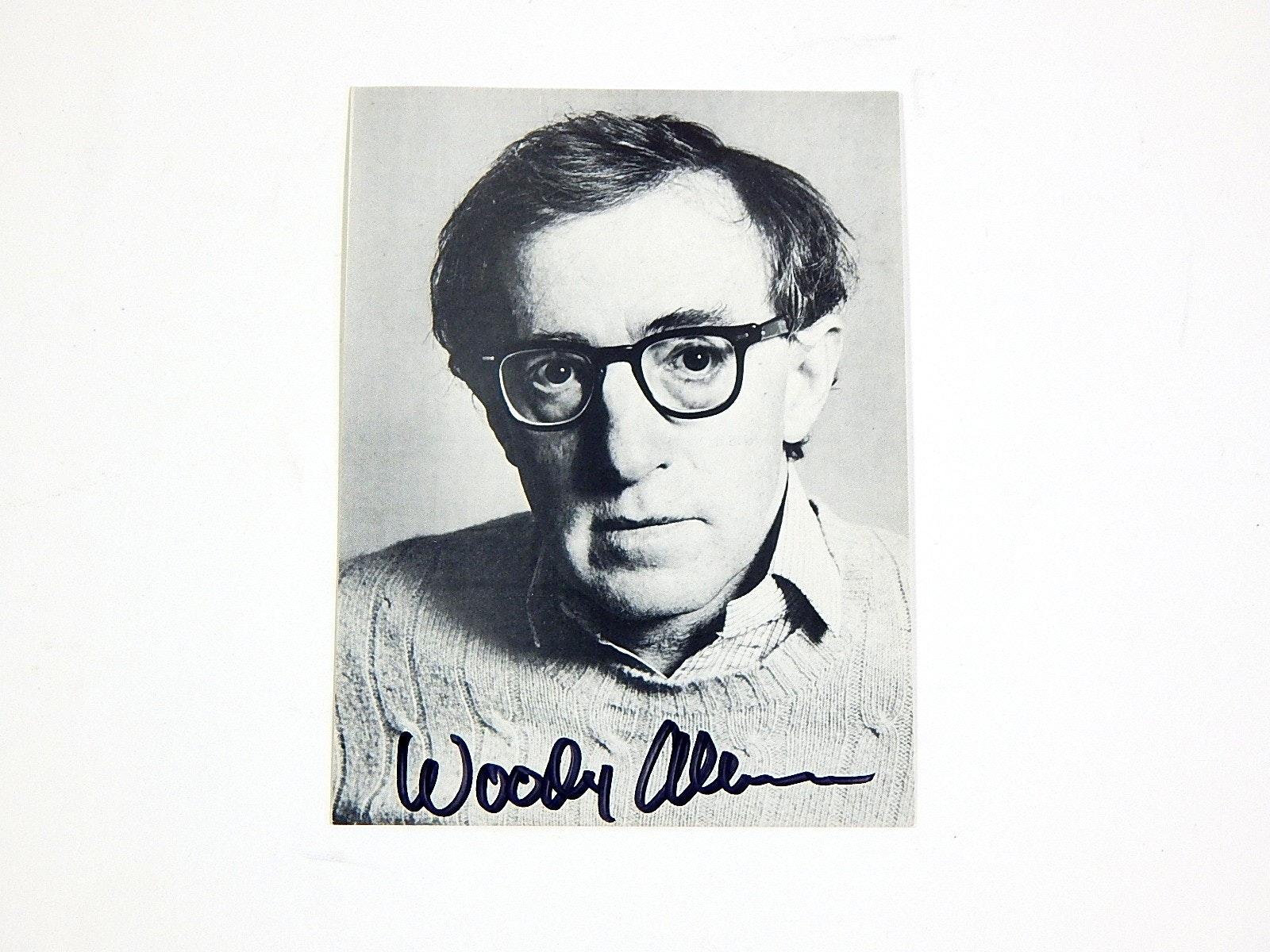 Woody Allen Autograph
