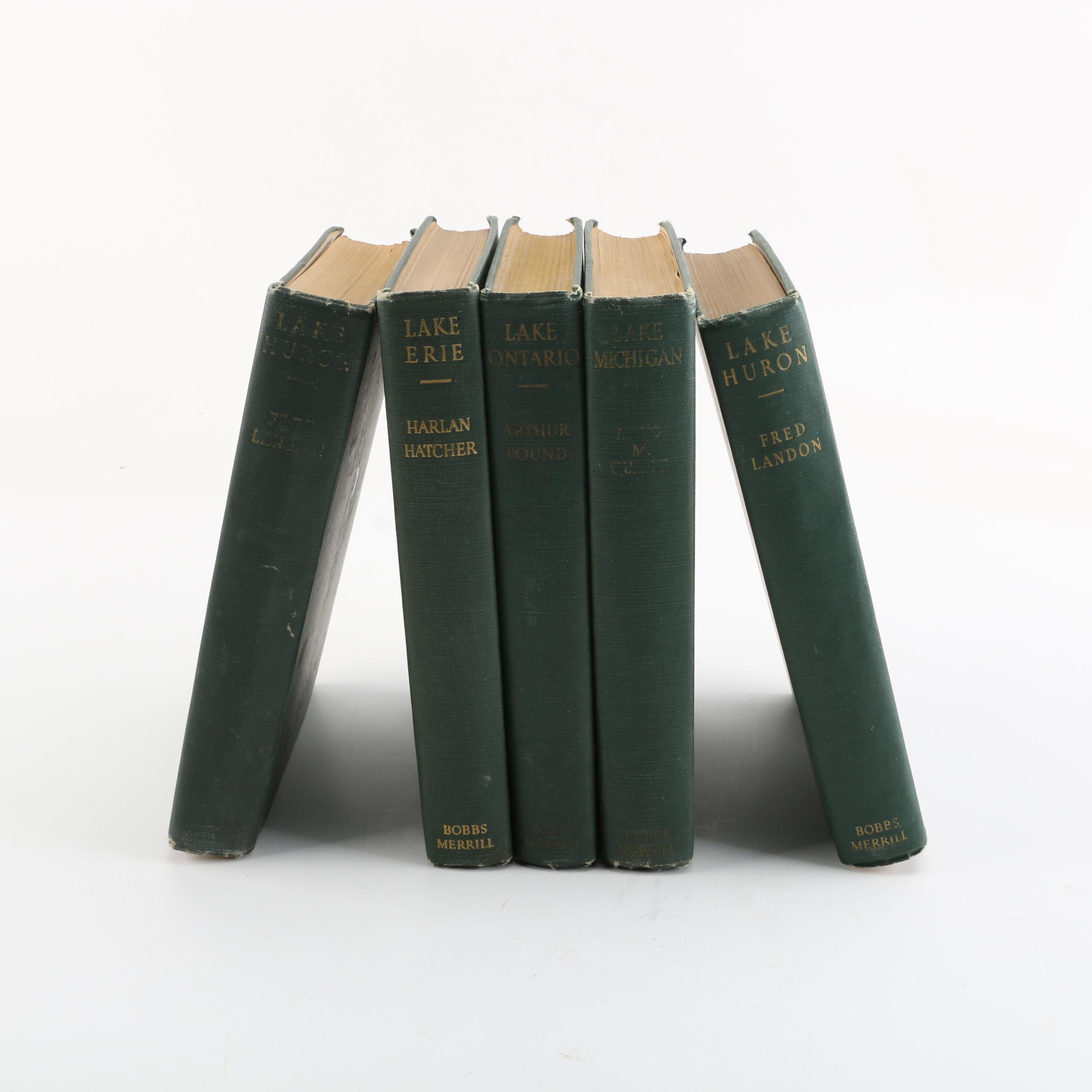 "1940s ""The American Lakes Series"" Five-Volume Set"