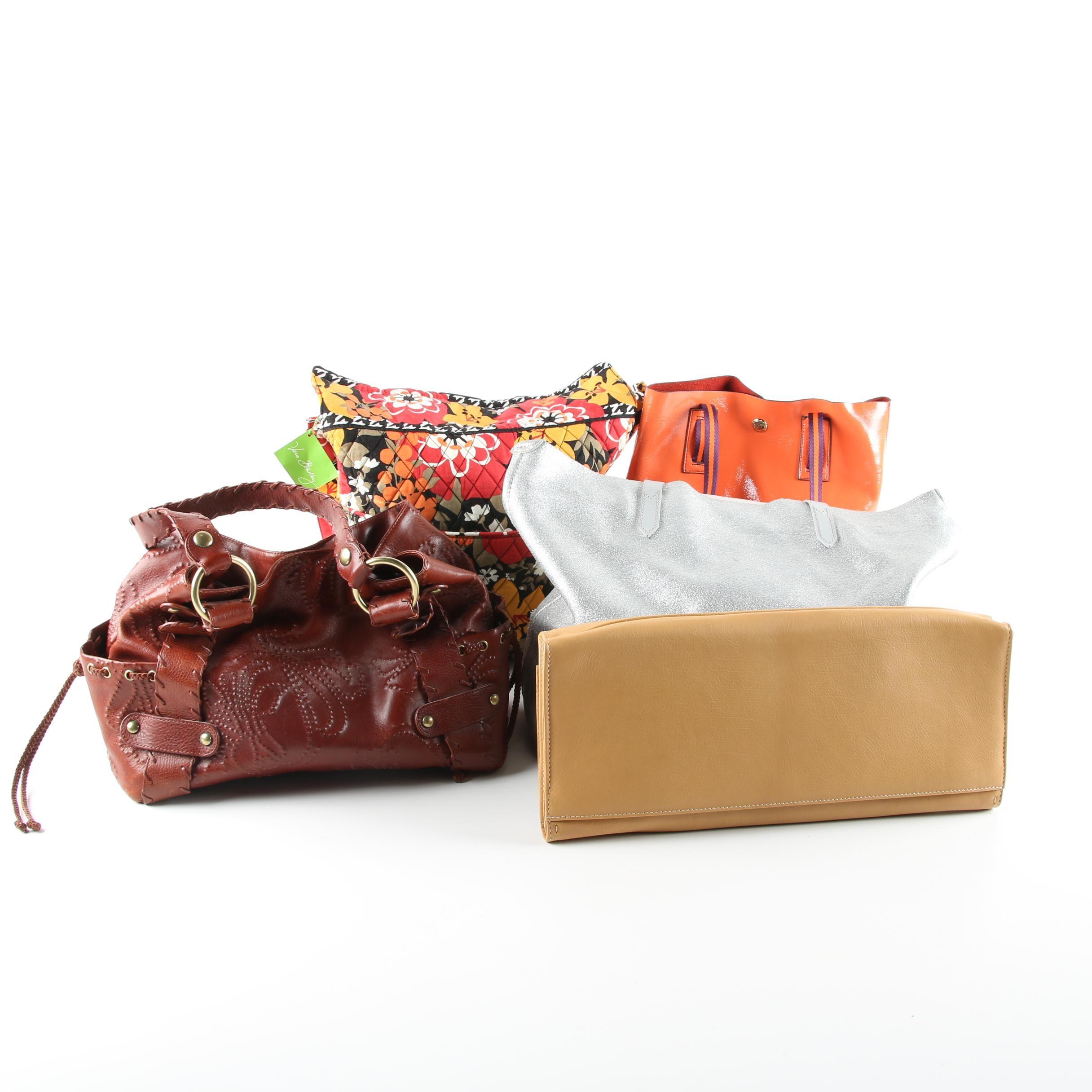 Women's Handbags Including Vera Bradley,  JPK Paris 75, Kooba and Barr + Bar