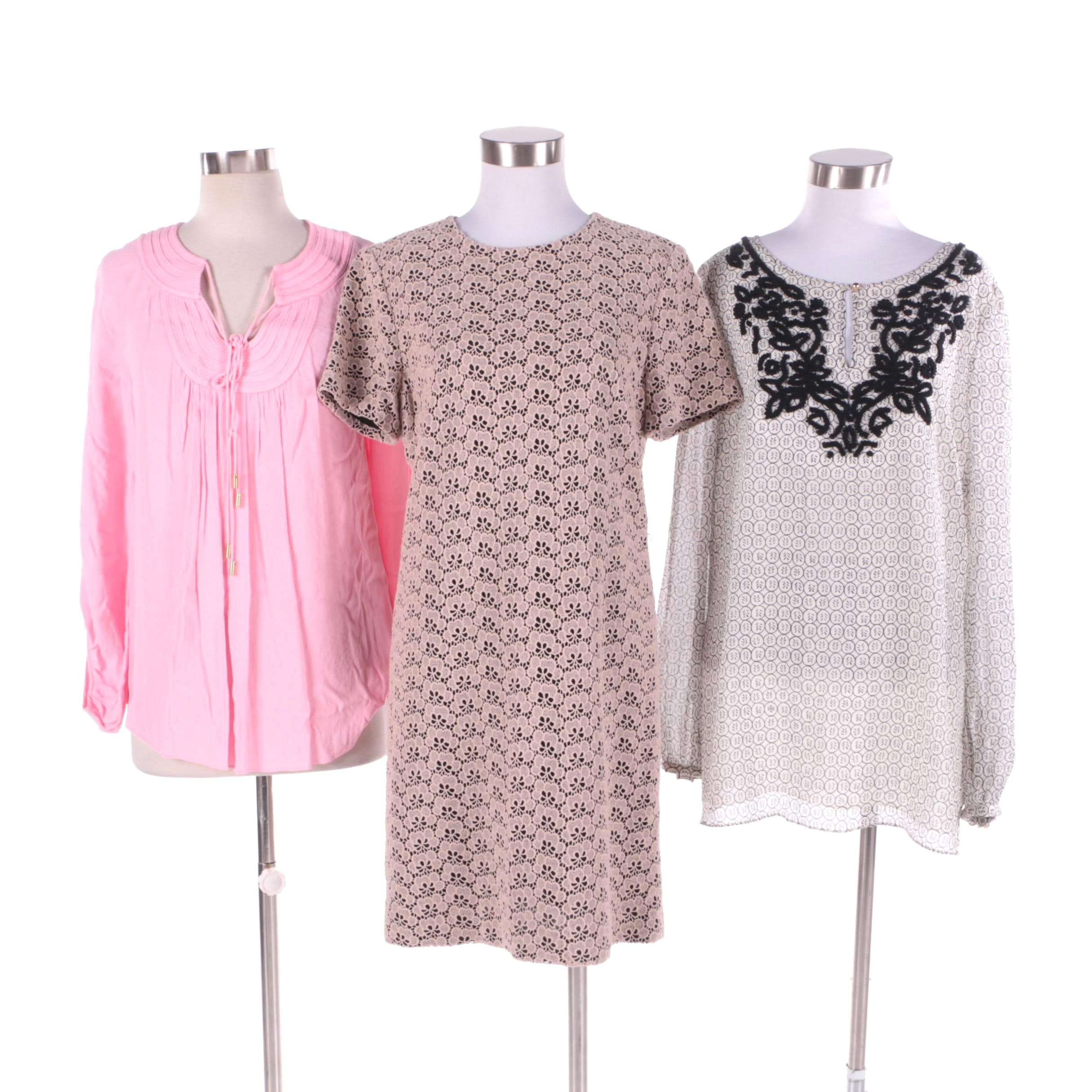 Diane von Furstenberg  and Tory Burch Tops and Dress