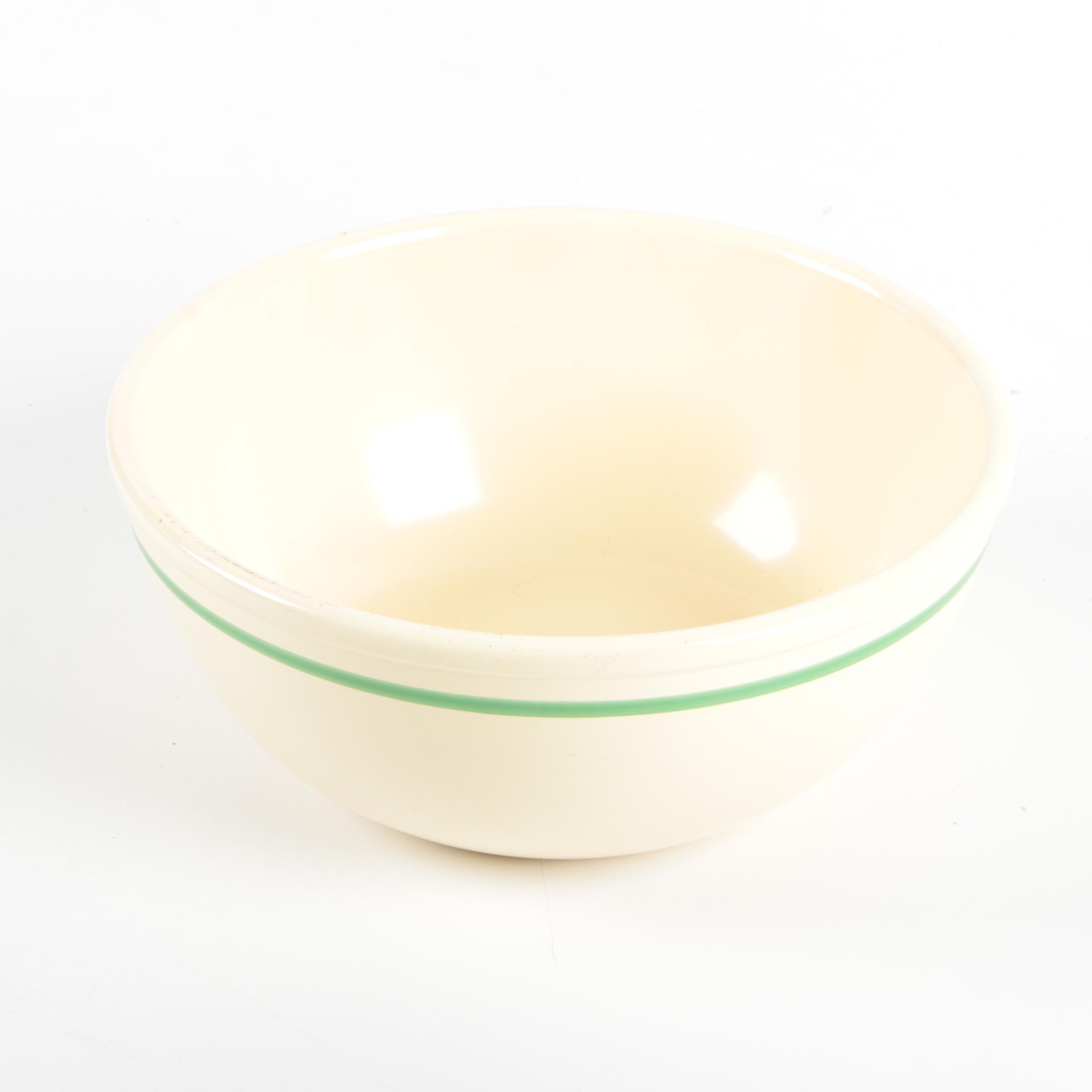 Vintage Homer Laughlin Ceramic Mixing Bowl ca. 1935