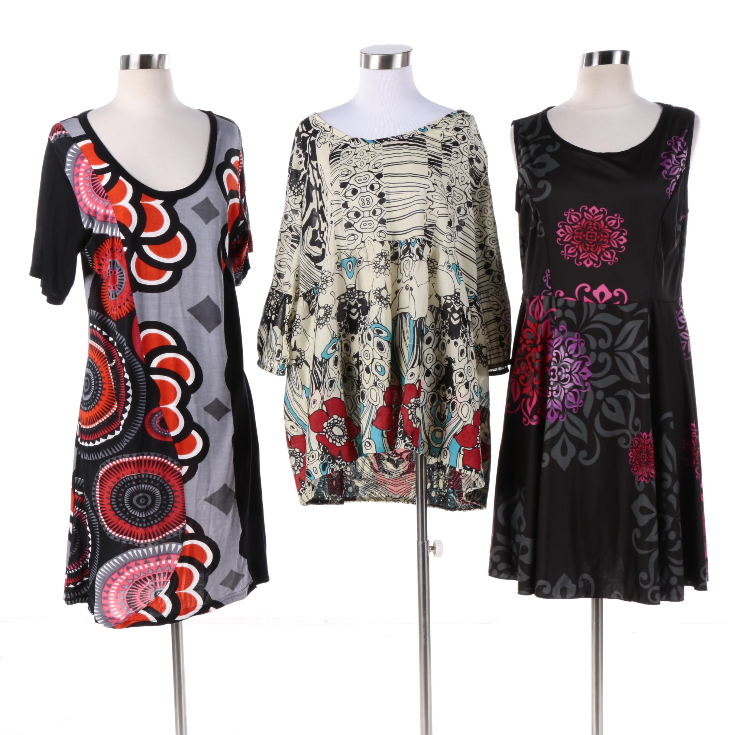 Women's Aller Simplement Dresses and Shirt
