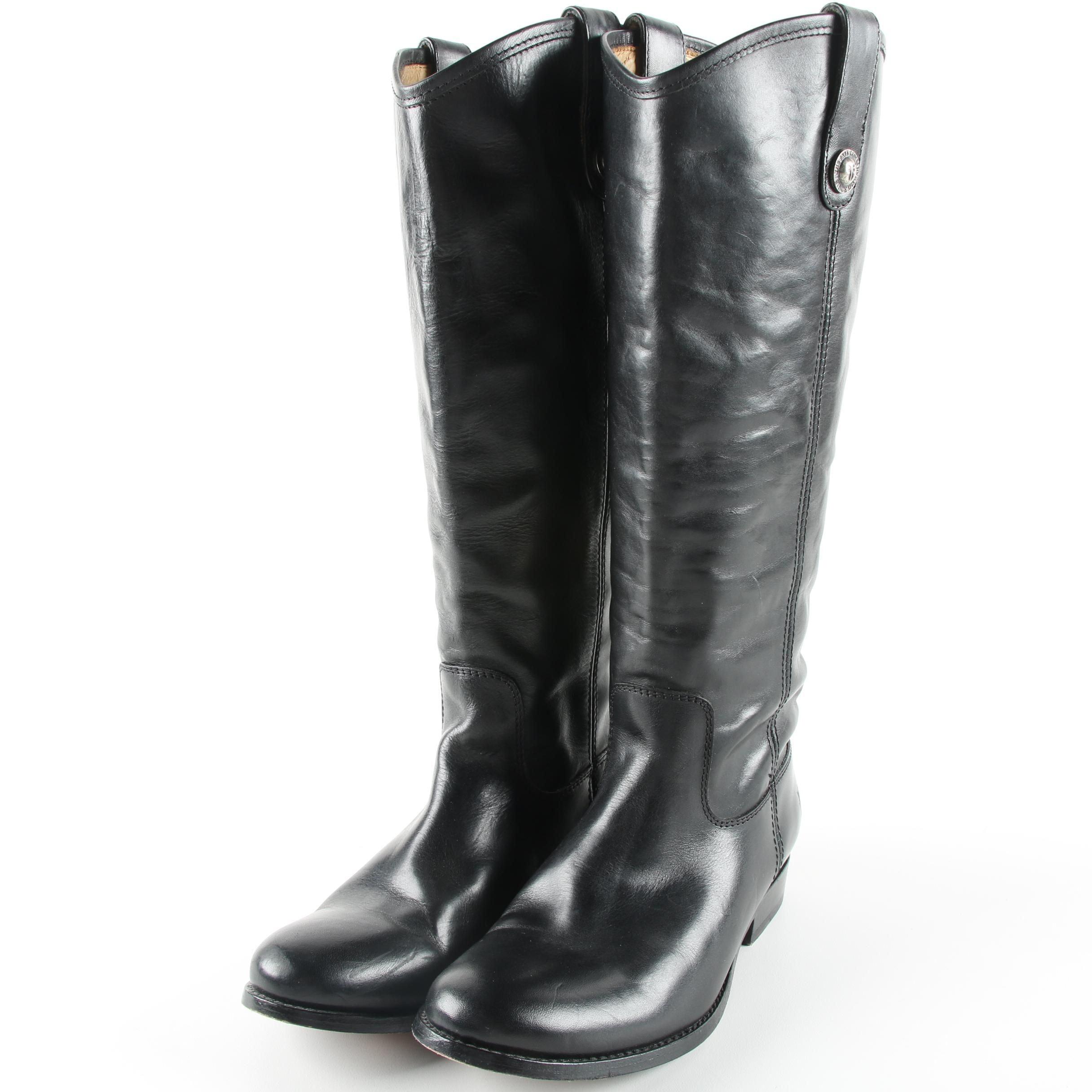Women's Frye Black Leather Boots