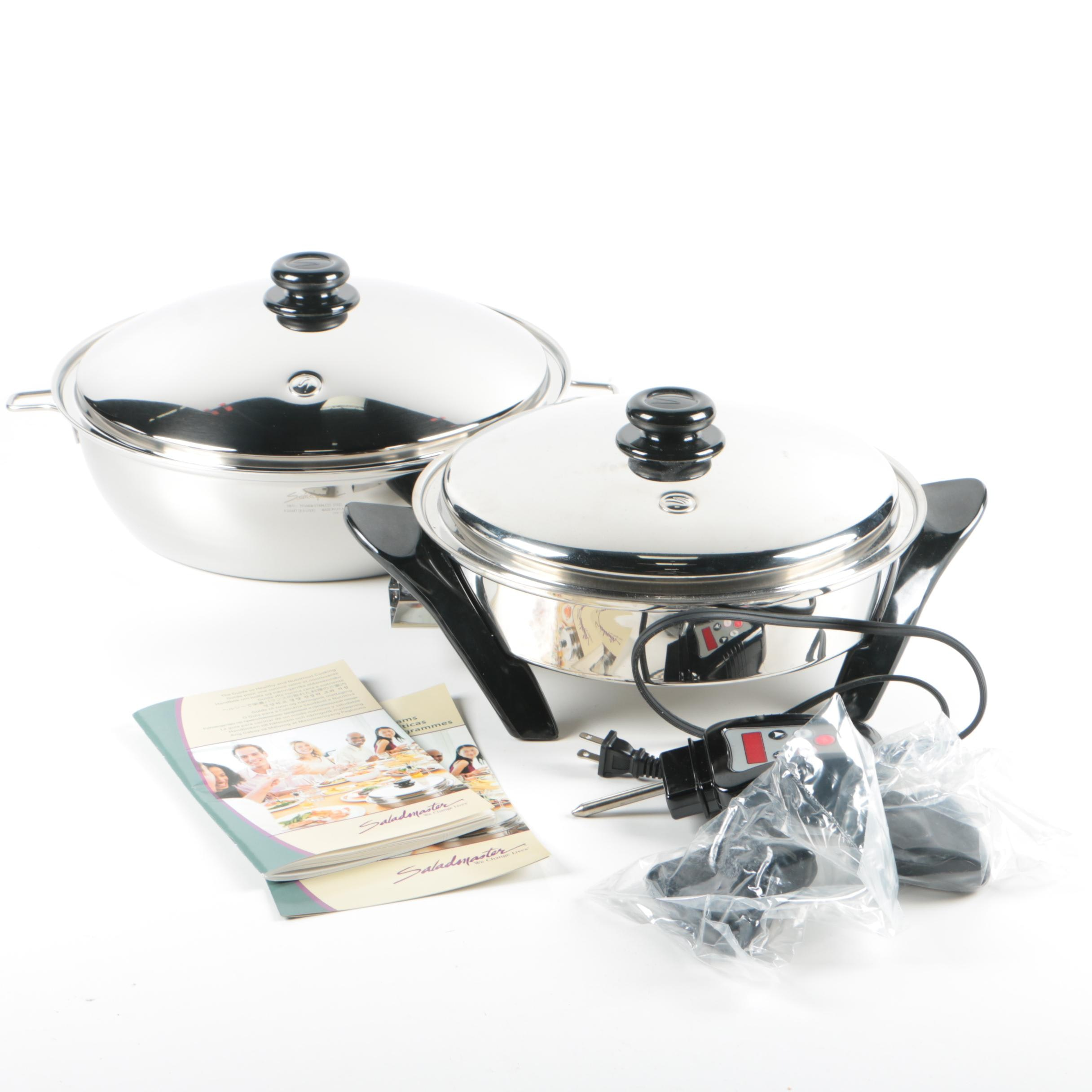 Saladmaster Stainless Steel Cooking System