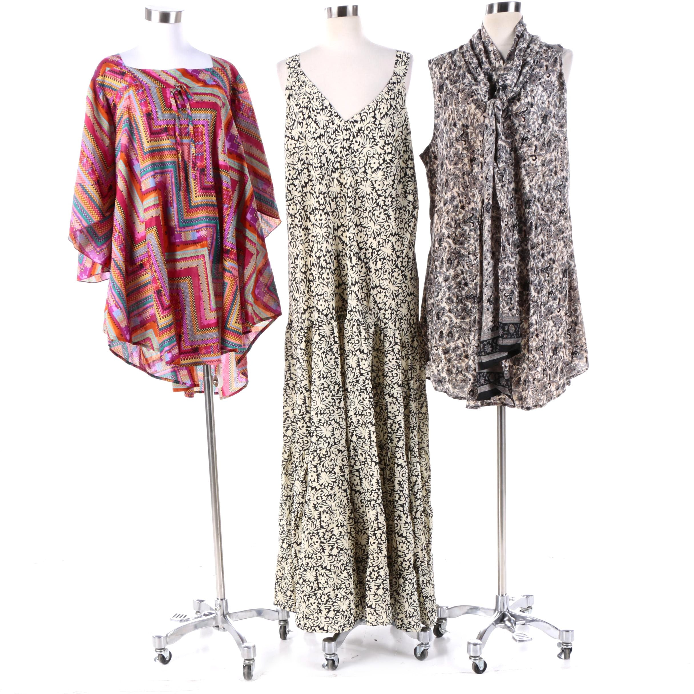 Aller Simplement Casual Summer Maxi and Tunics