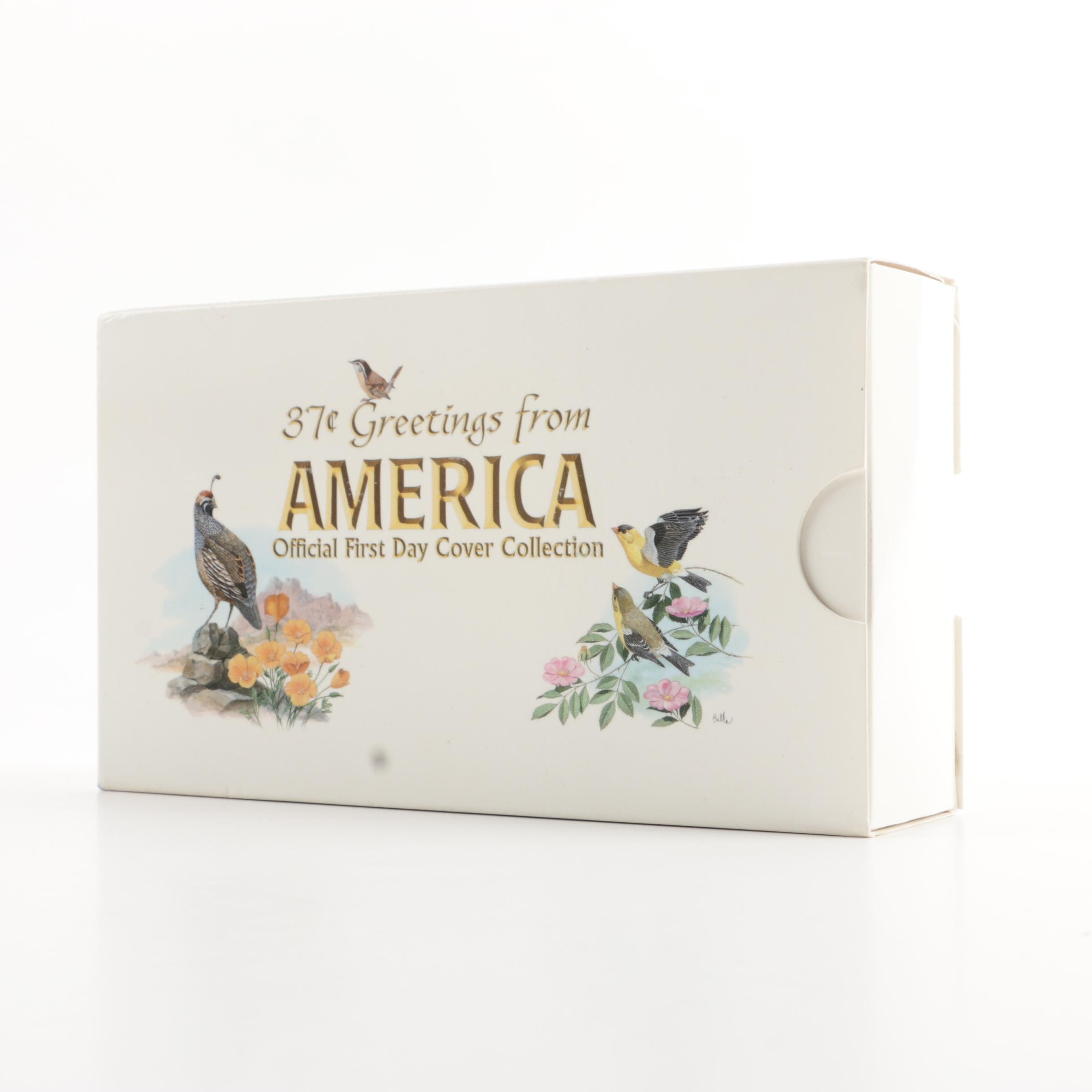"""""""Greetings From America"""" First Day Cover Collection"""