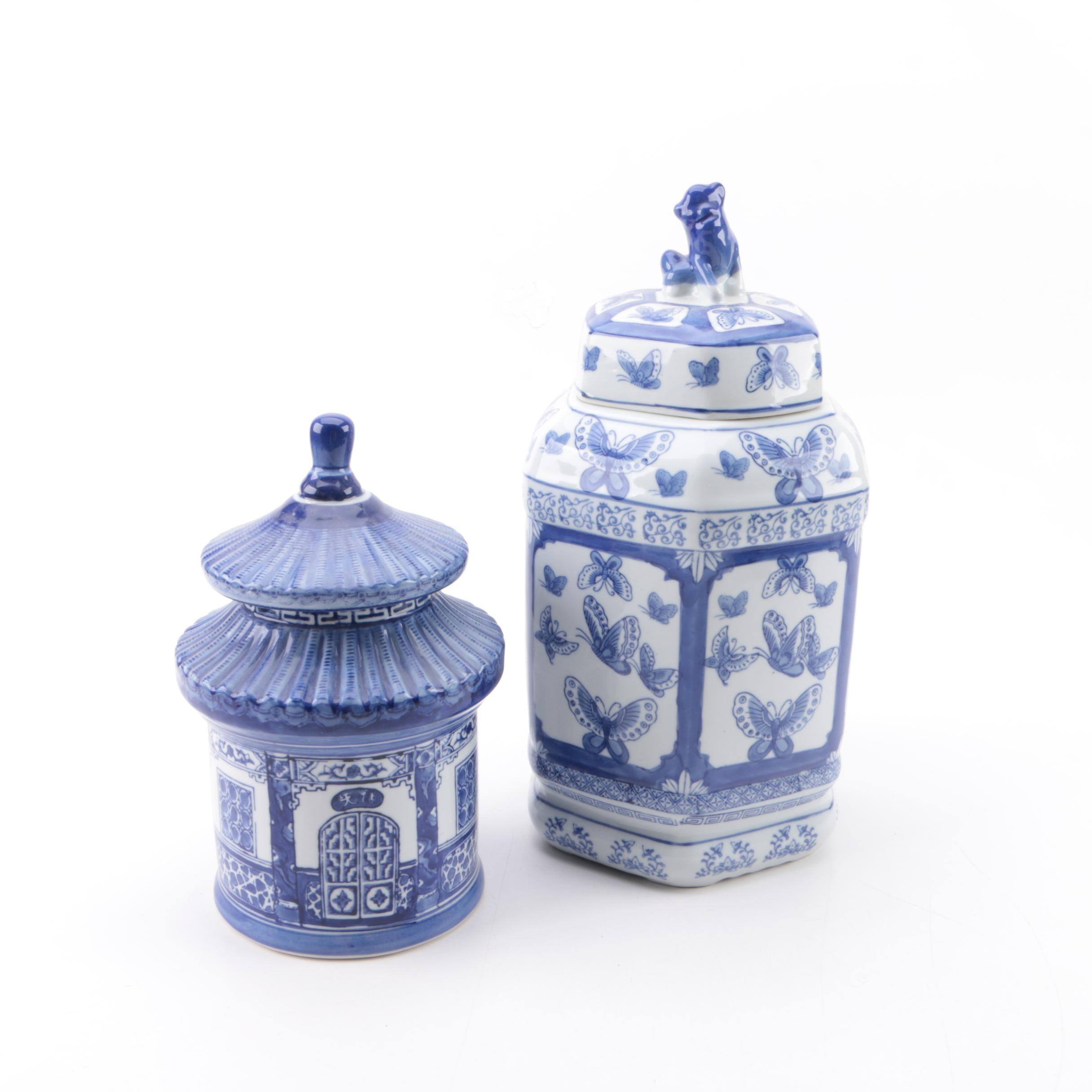 Chinese Blue-and-White Ceramic Vessels