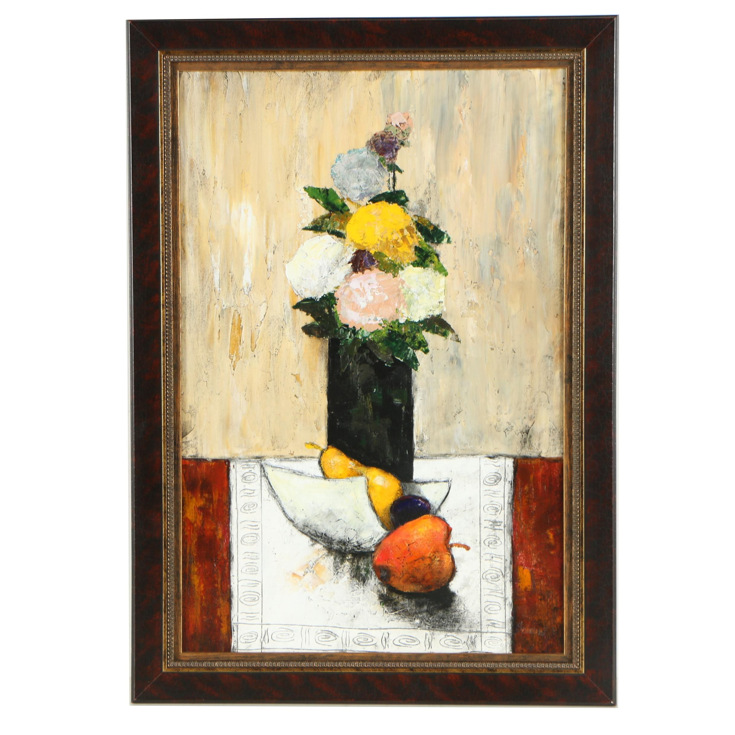 Seemov Still Life Oil Painting