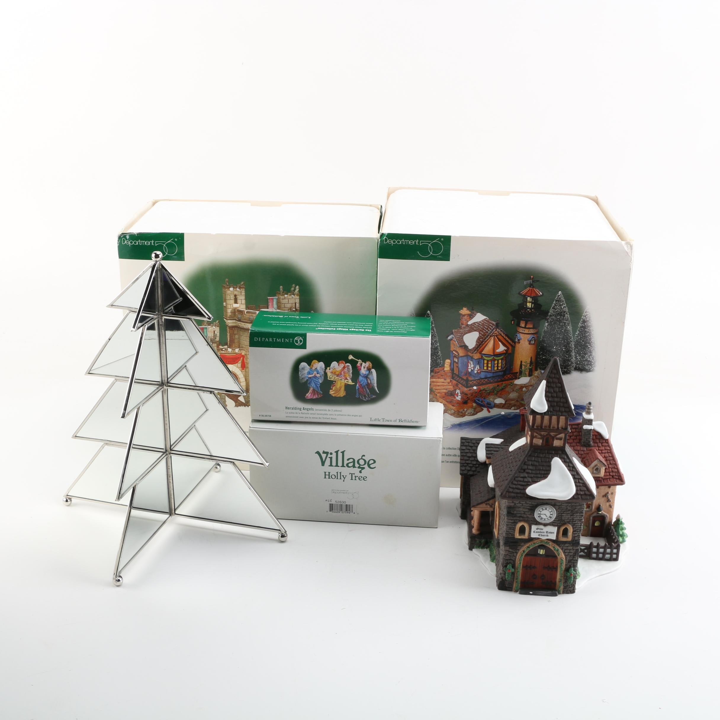Christmas Village Figurines Including Department 56 Dickens' Village