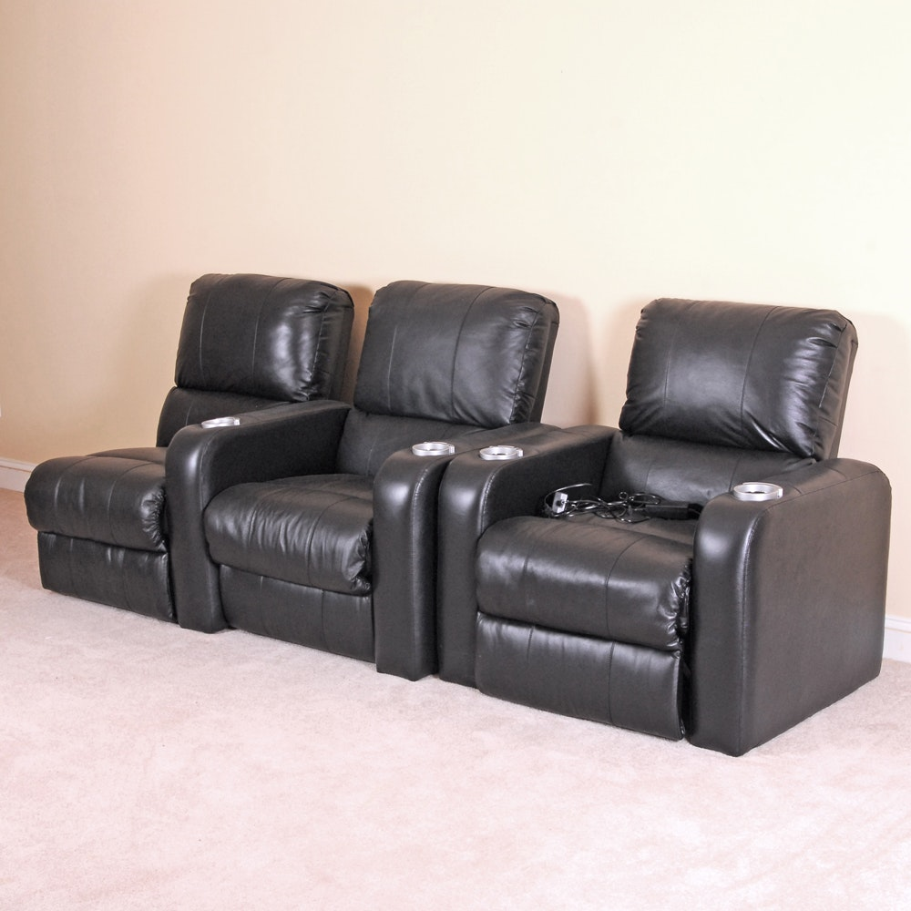 Selection of Three Home Theater Chairs