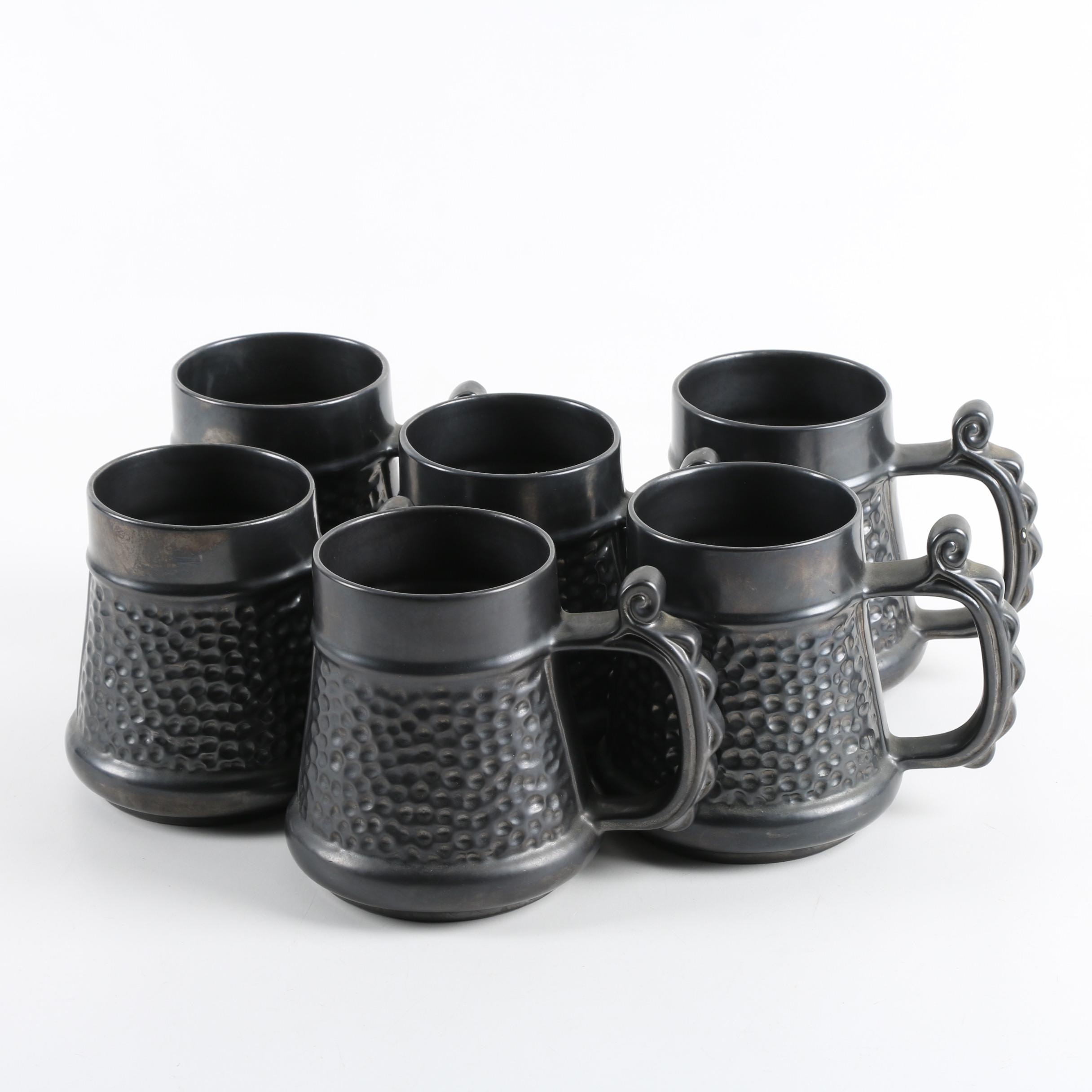 Prinknash Abbey English Pottery Mugs