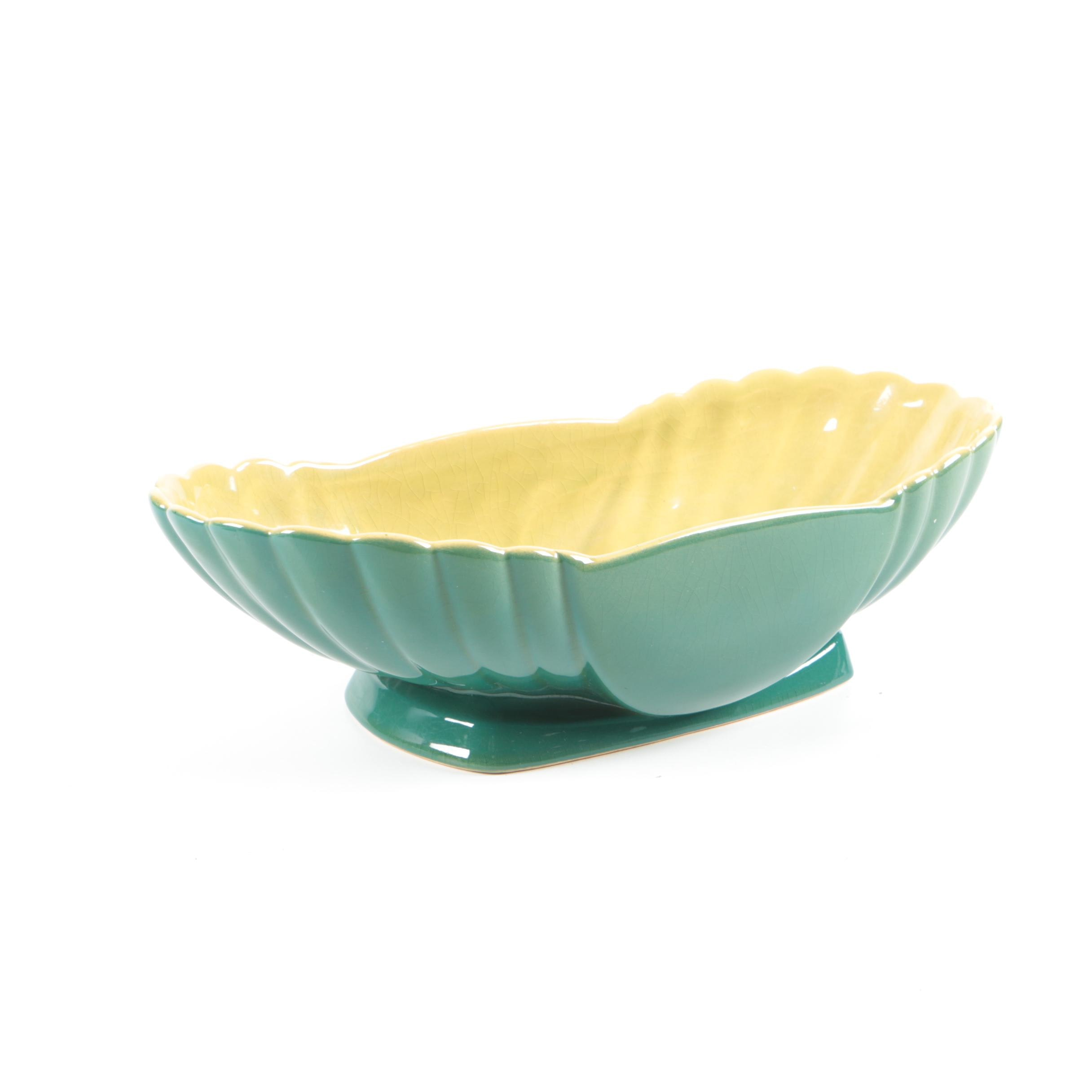 """Roseville Pottery """"Mayfair"""" Console Bowl"""