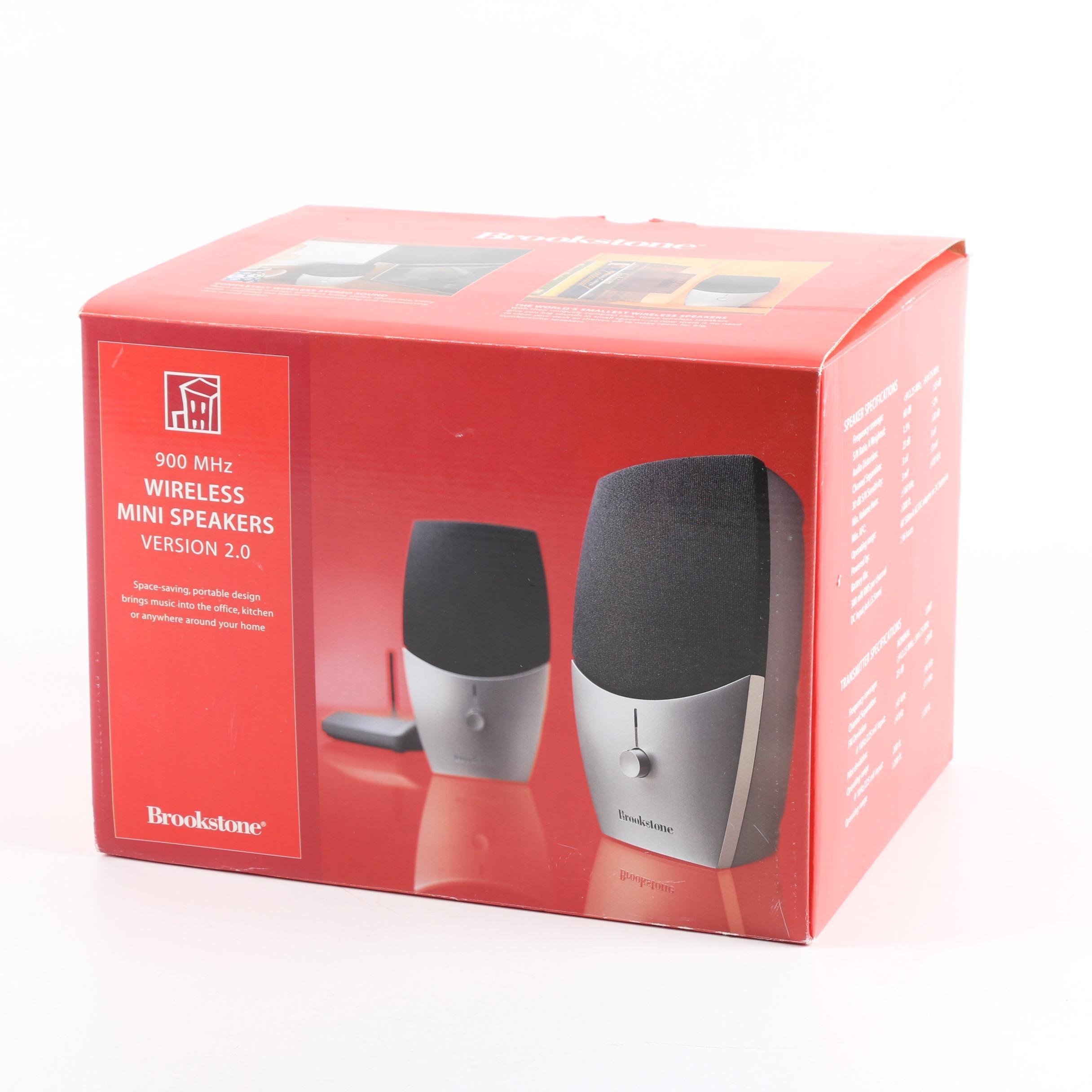 Brookstone Wireless Mini Speakers