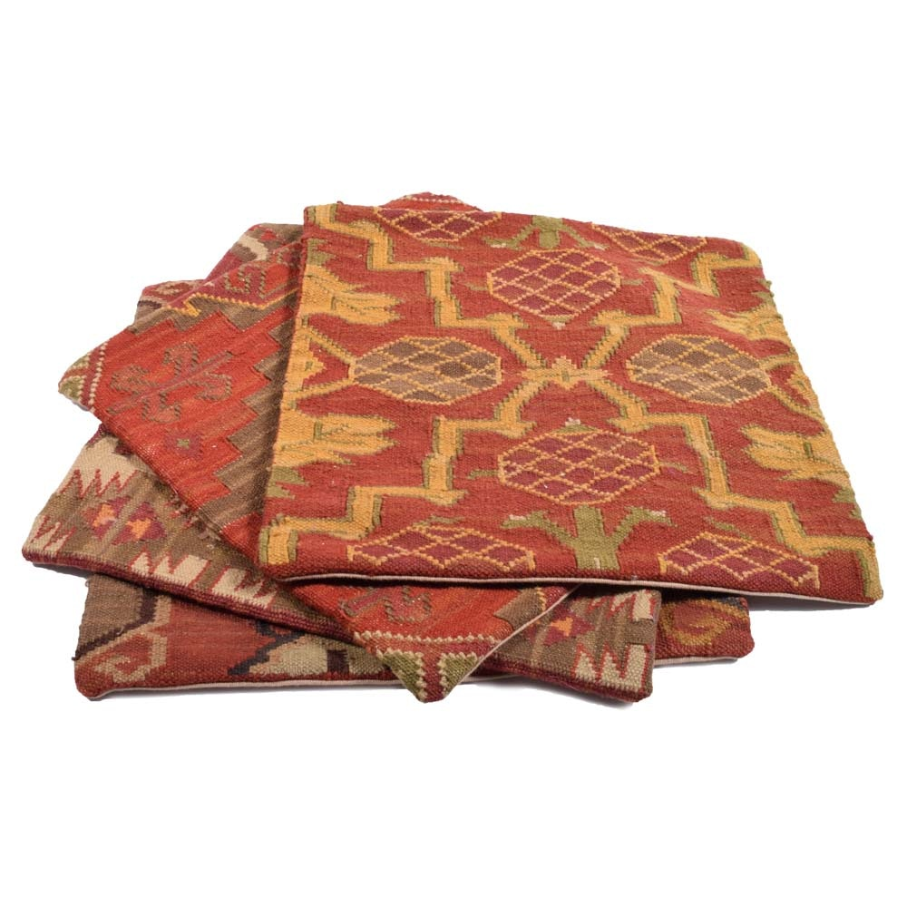 Pottery Barn Kilim Style Throw Pillow Covers