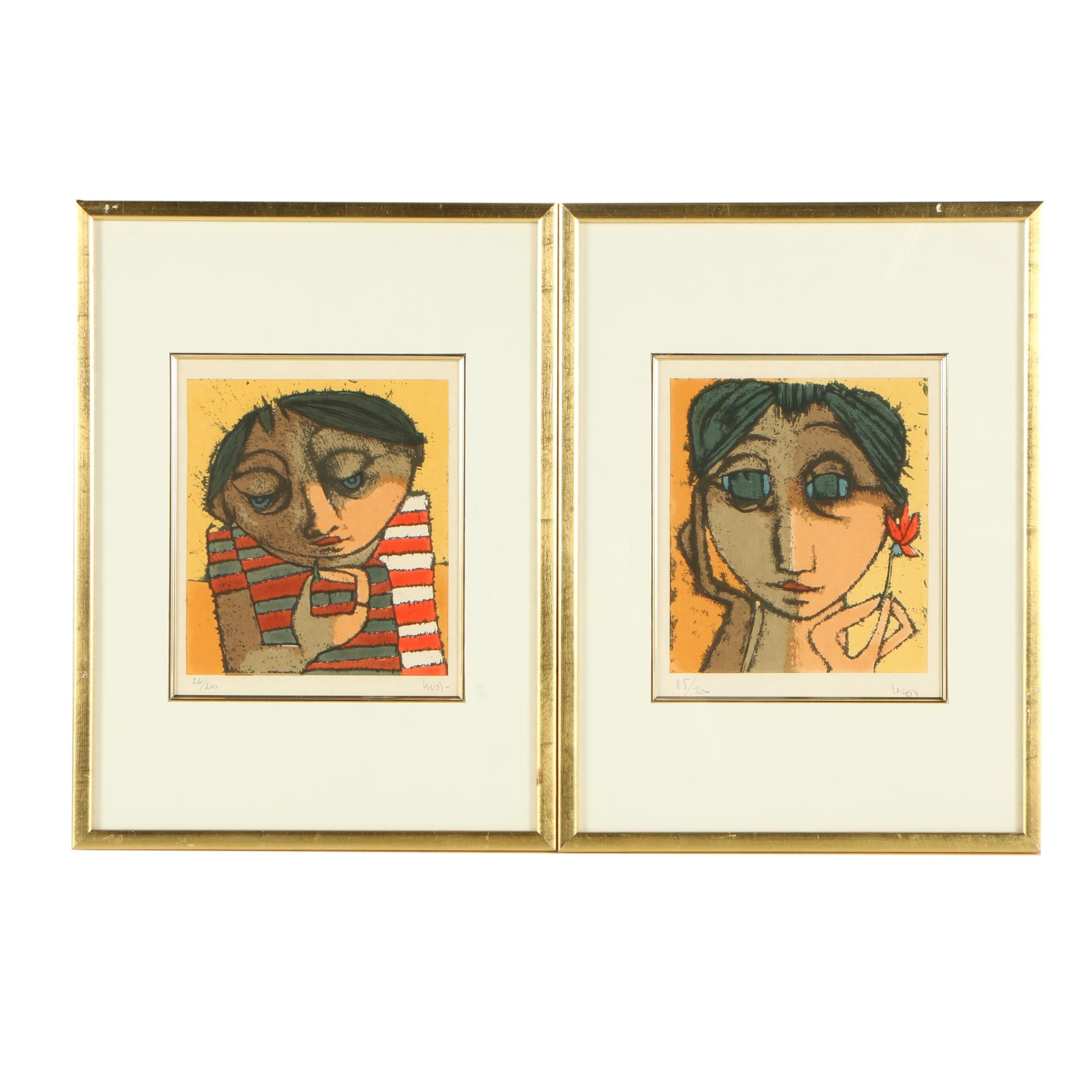 Limited Edition Serigraph Portraits