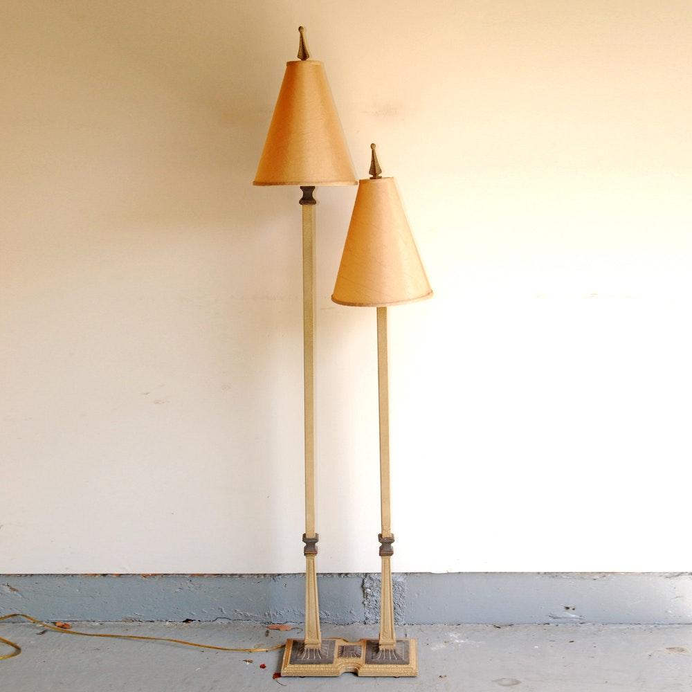 Tiered Double Floor Lamp