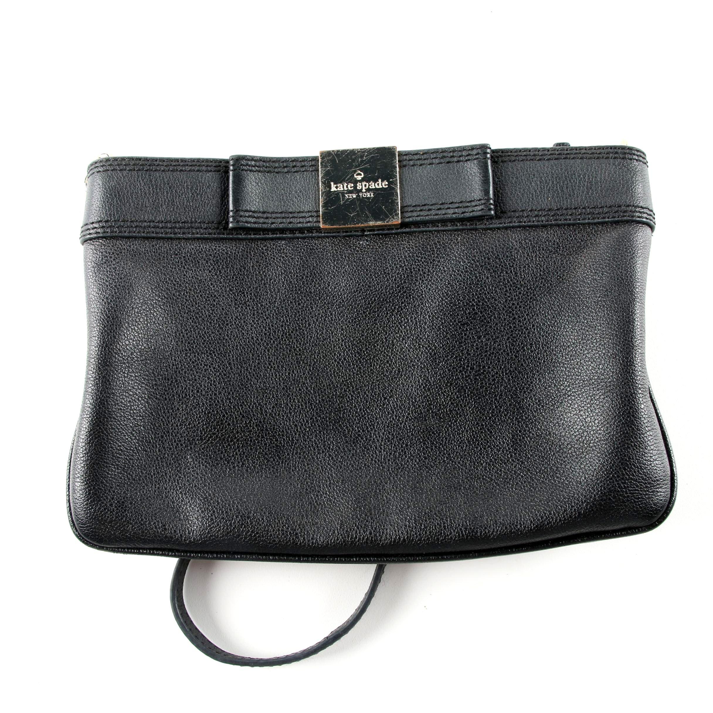 Kate Spade New York Black Leather Handbag