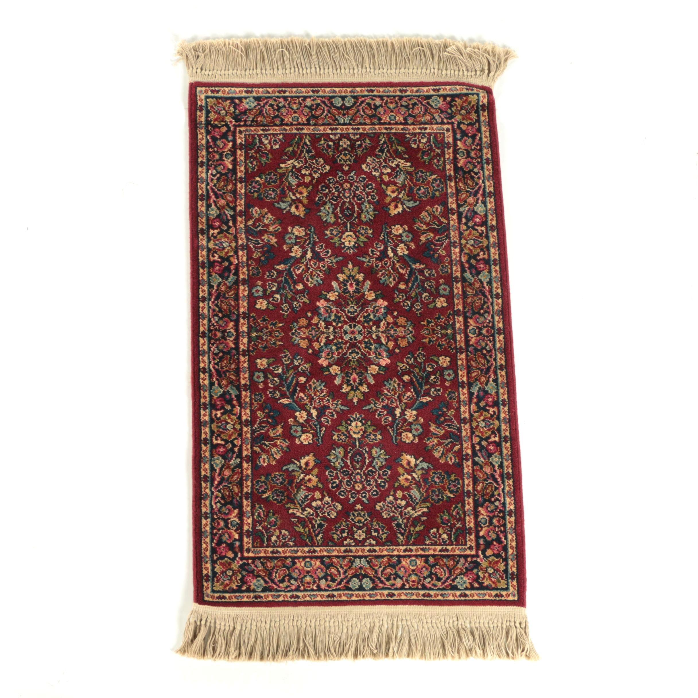 "Power-Loomed Karastan ""Sarouk"" Wool Accent Rug"