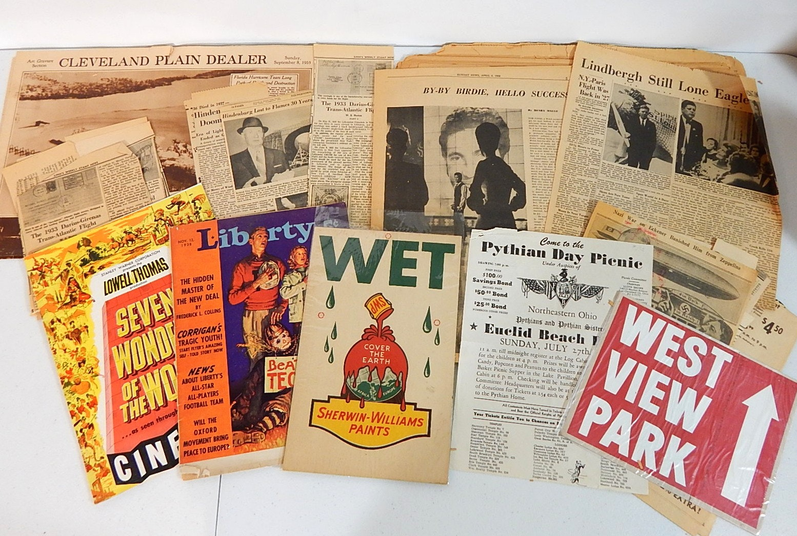 Vintage Ephemera and Advertising Memorabilia