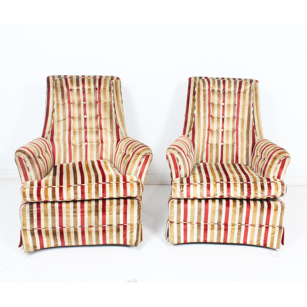 Mid-Century Armchairs from Hickory House