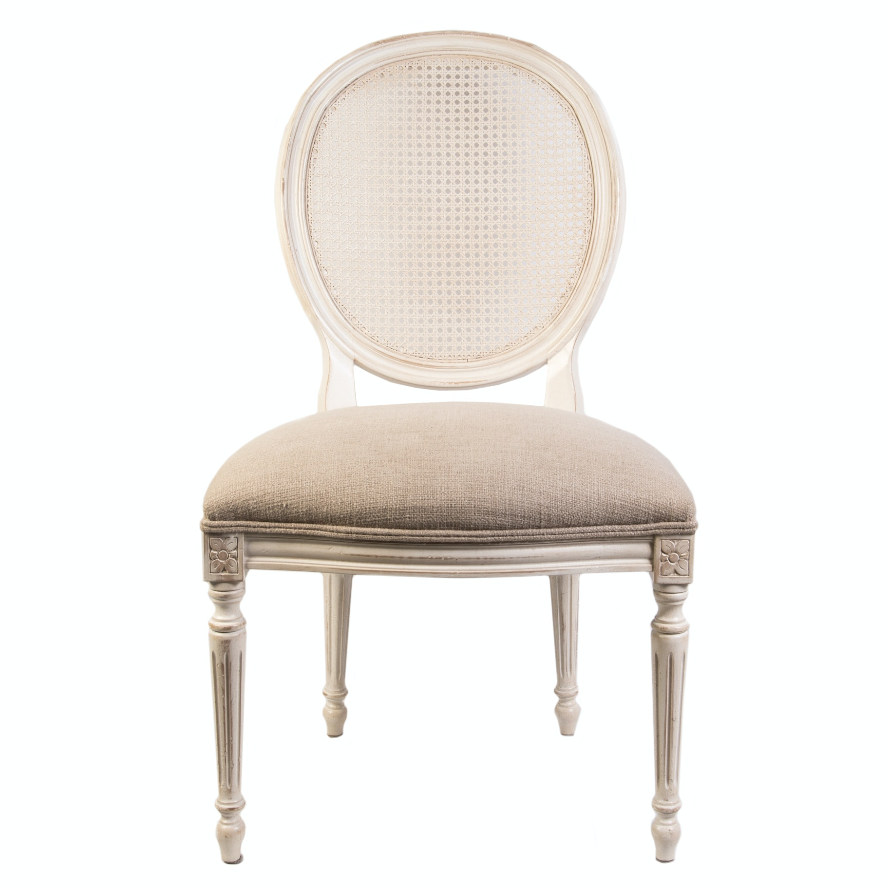 "Ethan Allen ""Chrystiane"" Louis XVI  Style Side Chair"