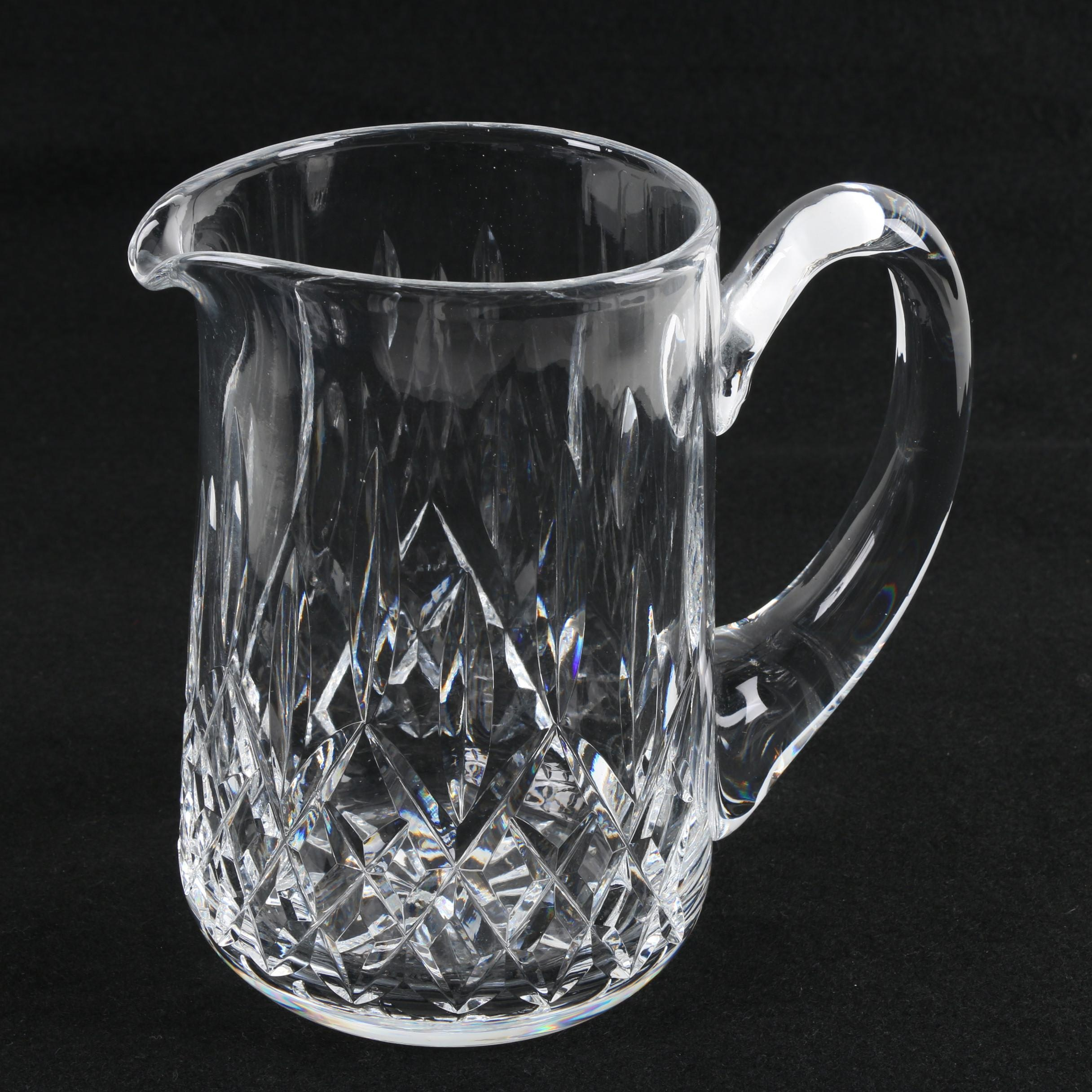 """Waterford Crystal """"Lismore"""" Pitcher"""