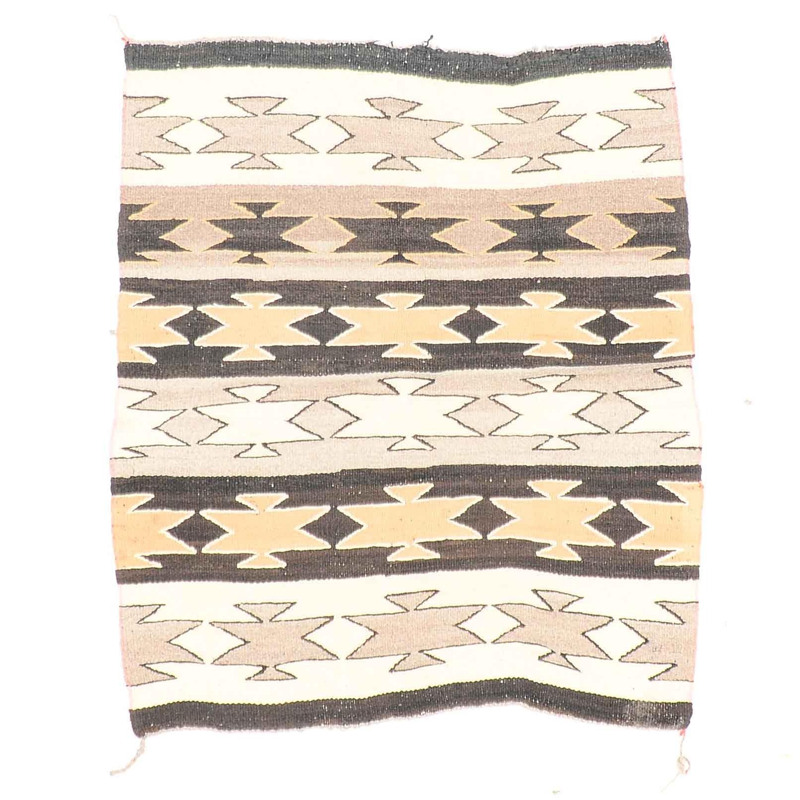 Vintage Navajo Style Saddle Blanket